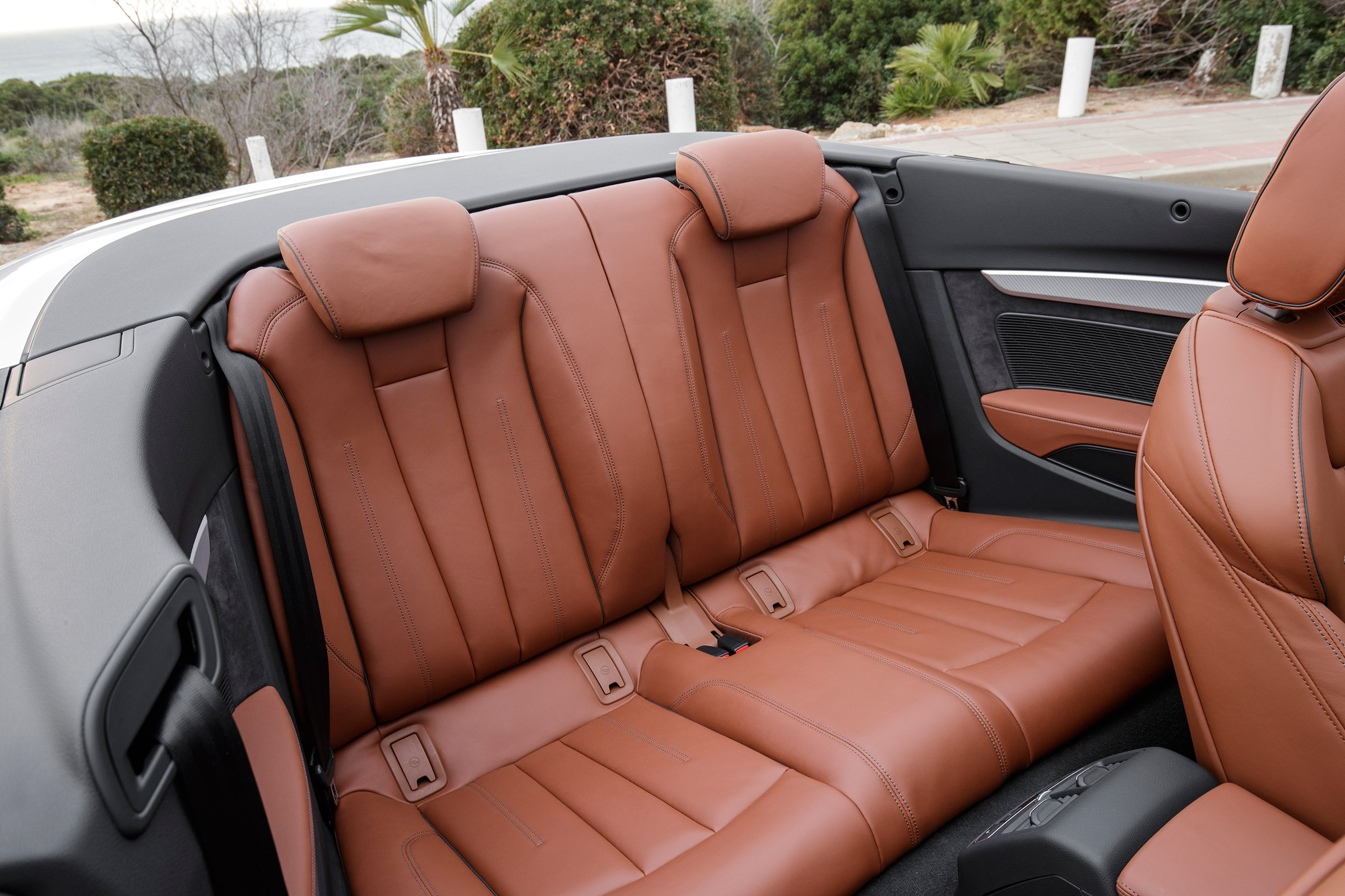 2017 Audi A5 Cabriolet Interior Seats Rear (View 8 of 18)