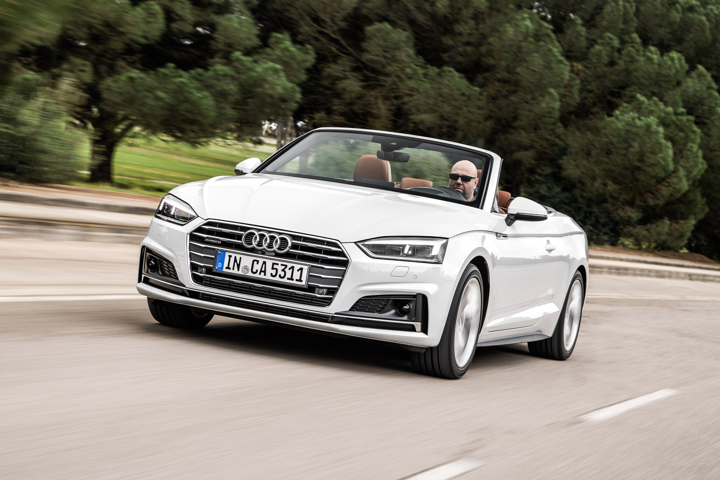 2017 Audi A5 Cabriolet Test Drive Front View (Photo 16 of 18)