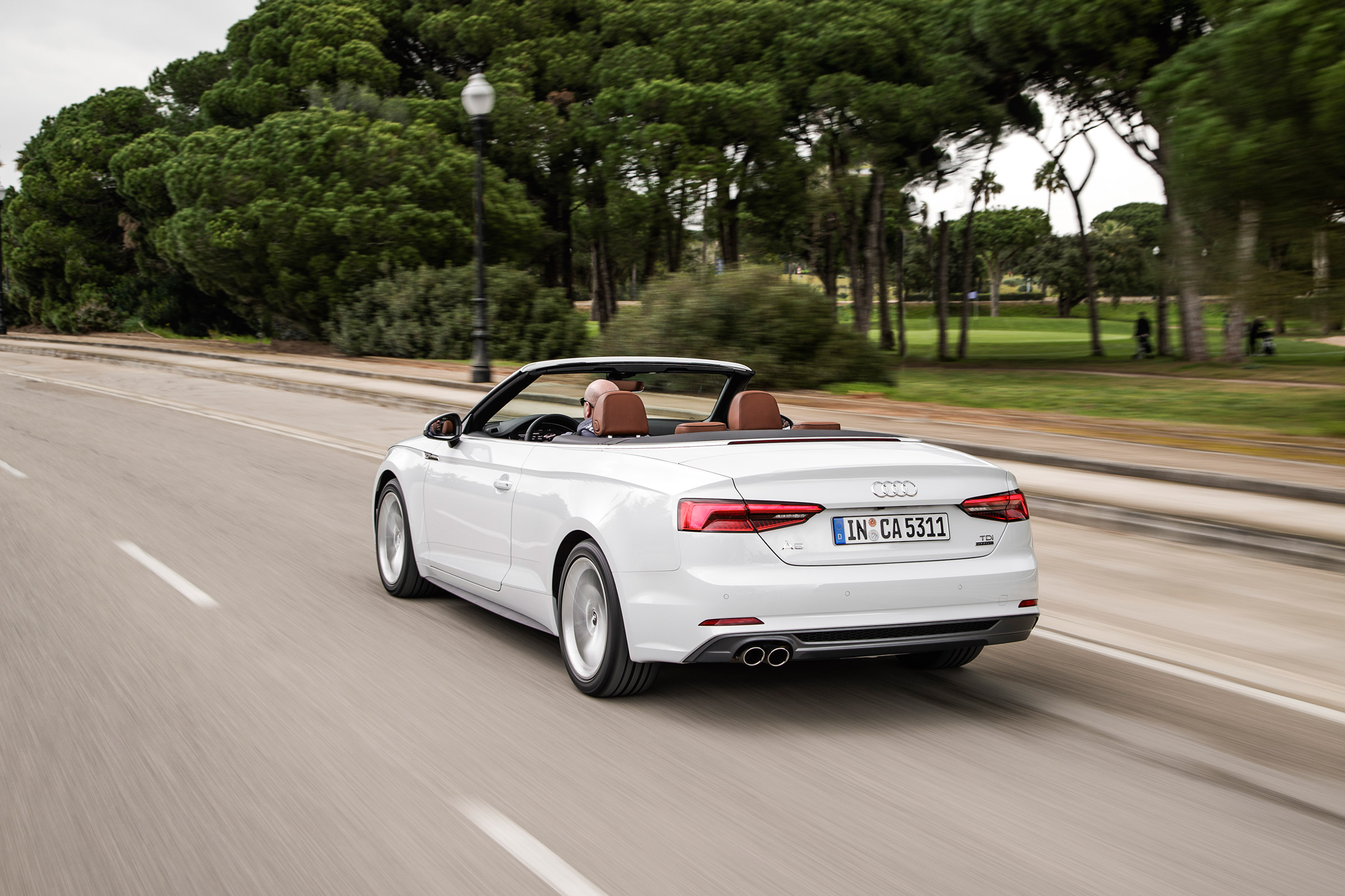 2017 Audi A5 Cabriolet Test Drive Side And Rear View (Photo 18 of 18)