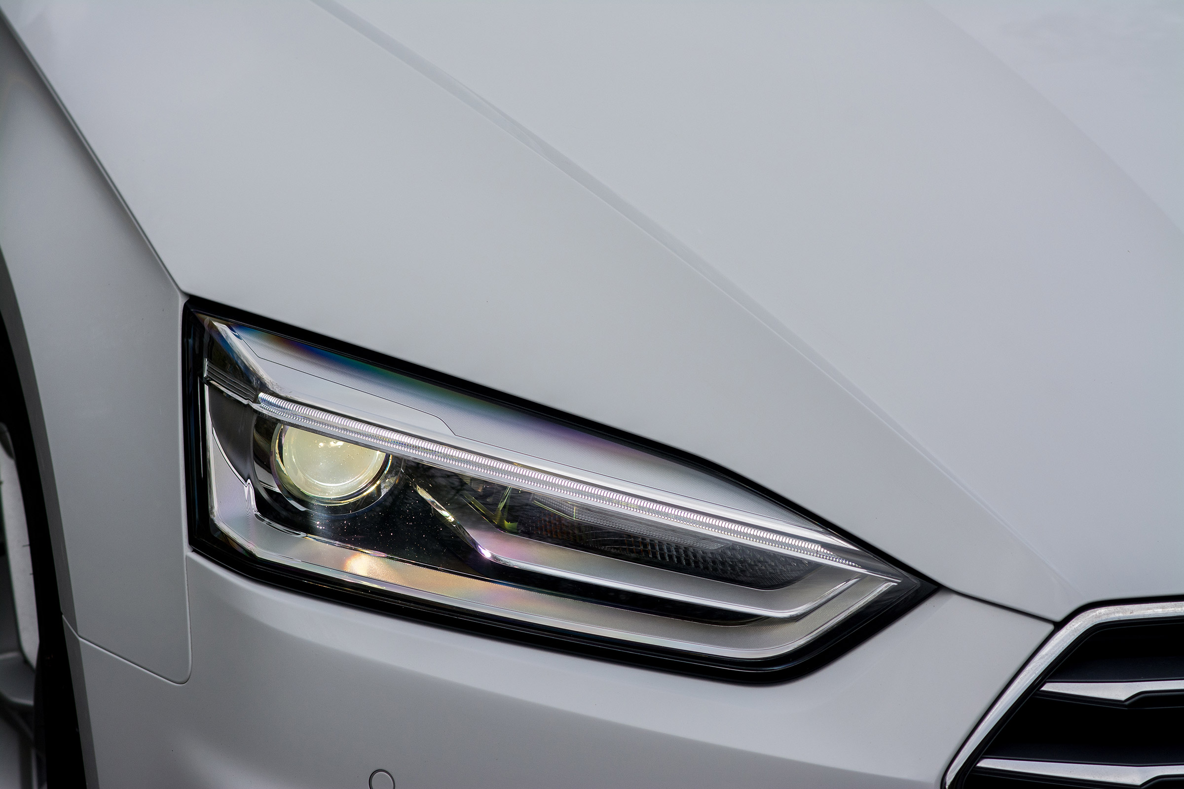 2017 Audi A5 Coupe Exterior View Headlight (Photo 20 of 21)