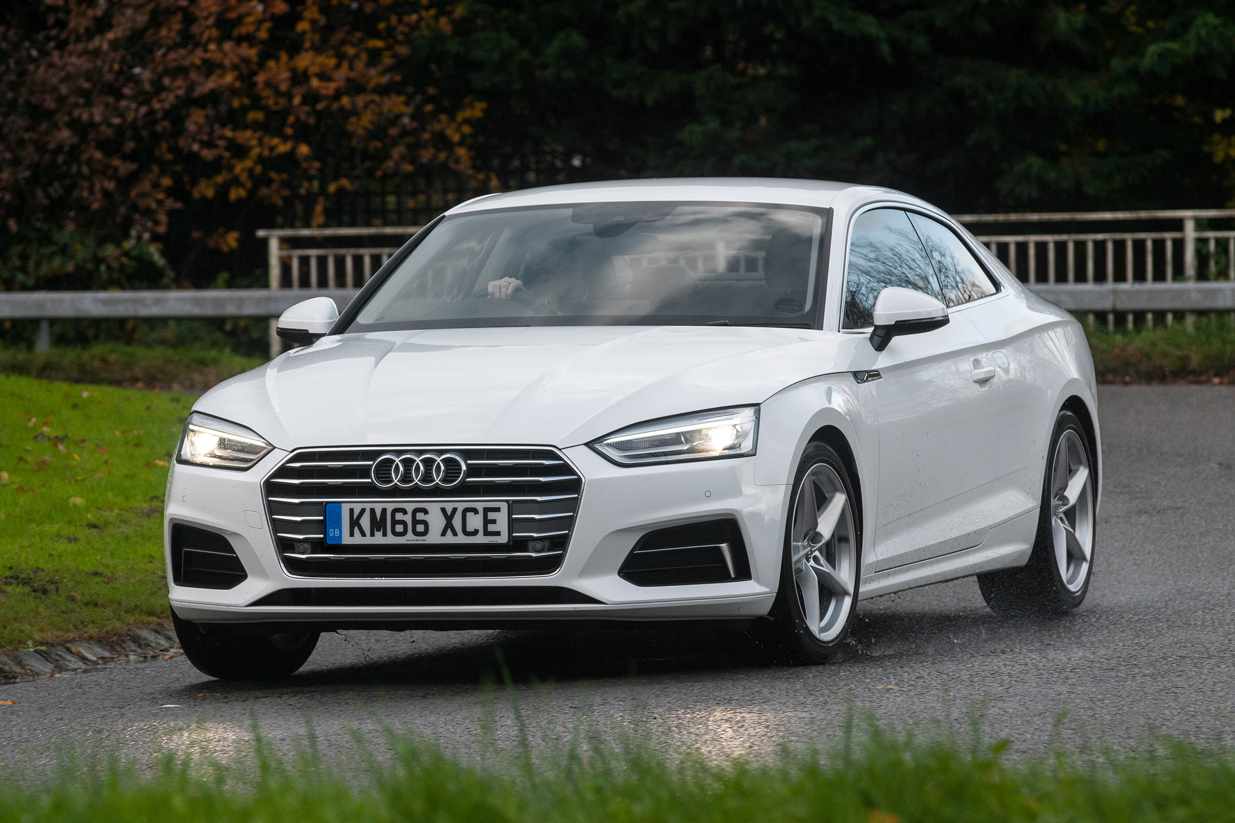 2017 Audi A5 Coupe Exterior White (Photo 7 of 21)