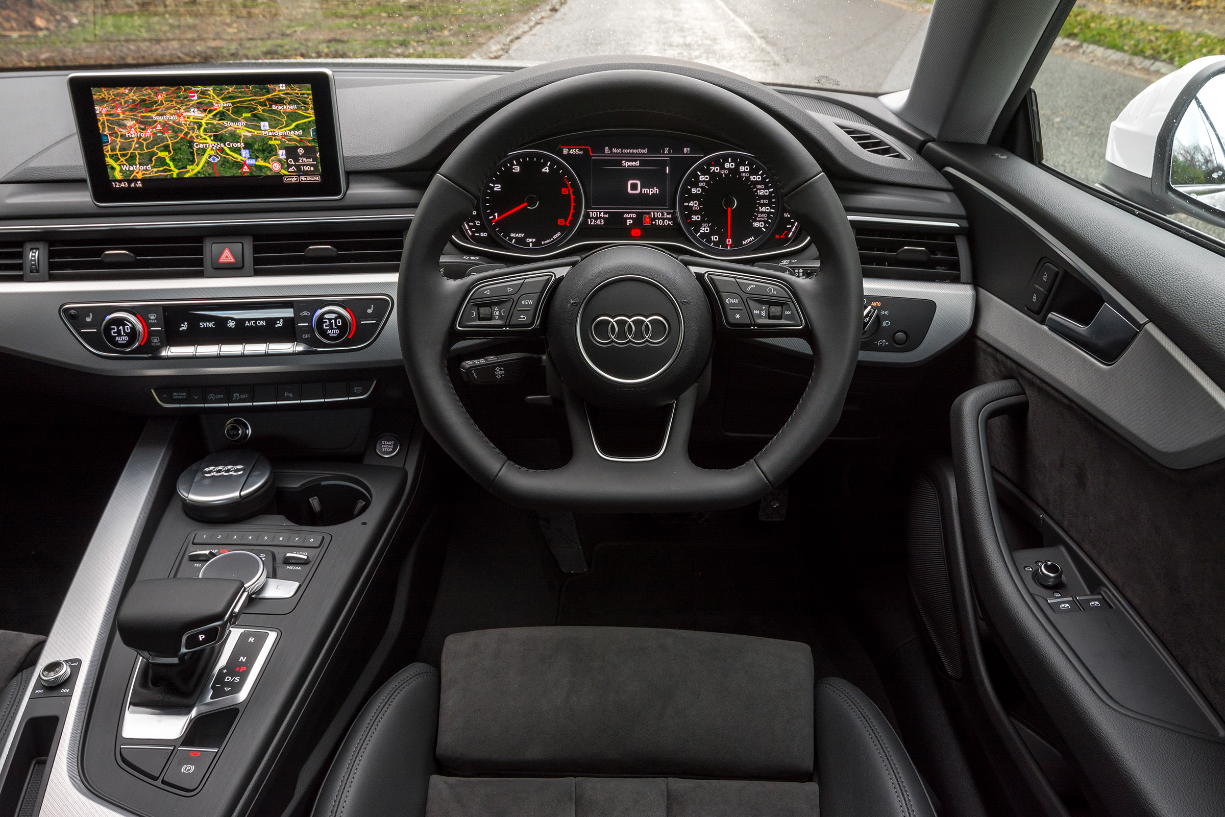 2017 audi a5 coupe interior cockpit and dash gallery. Black Bedroom Furniture Sets. Home Design Ideas