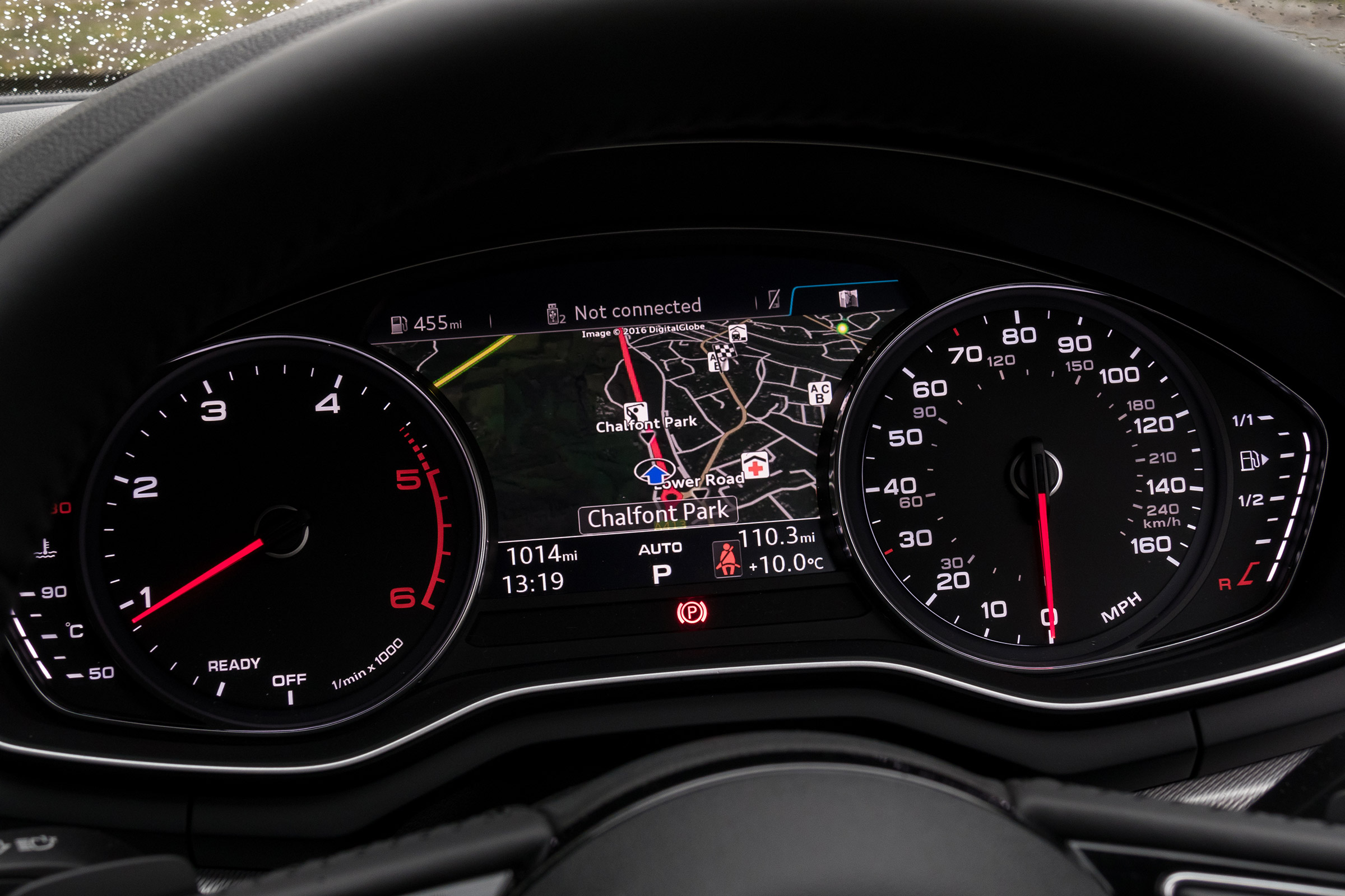 2017 Audi A5 Coupe Interior View Speedometer Instrument Cluster (Photo 9 of 21)