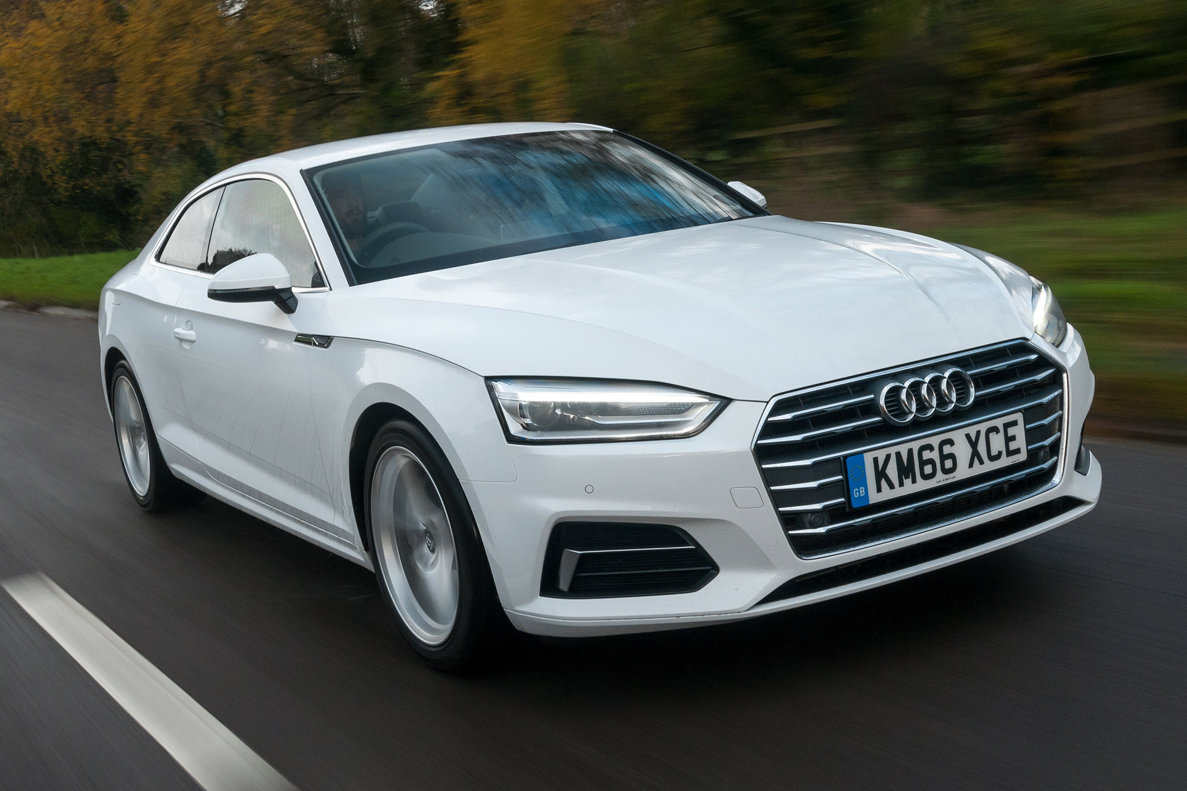 2017 Audi A5 Coupe Test Drive Front View (Photo 4 of 21)