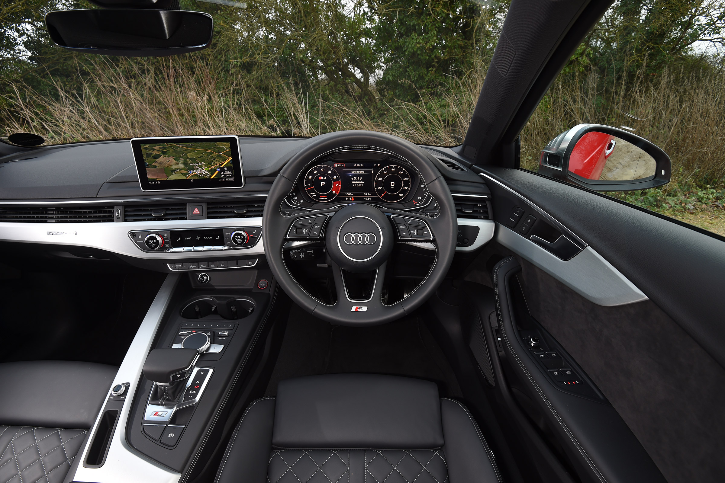 2017 Audi S4 Avant Interior Driver Cockpit Steering And Dash (View 10 of 17)