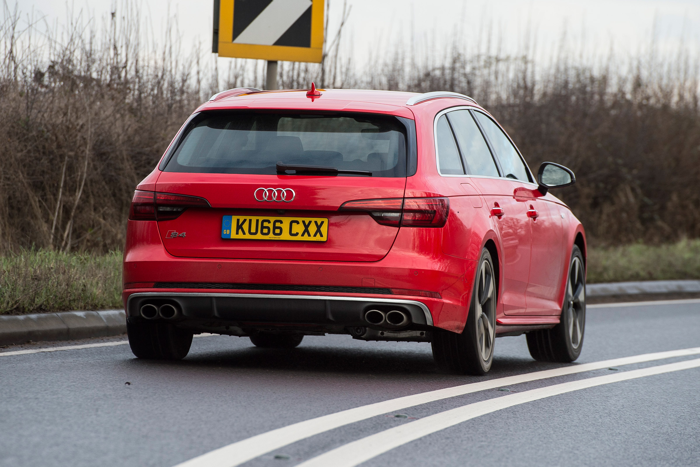 2017 Audi S4 Avant Test Drive Rear View (Photo 16 of 17)