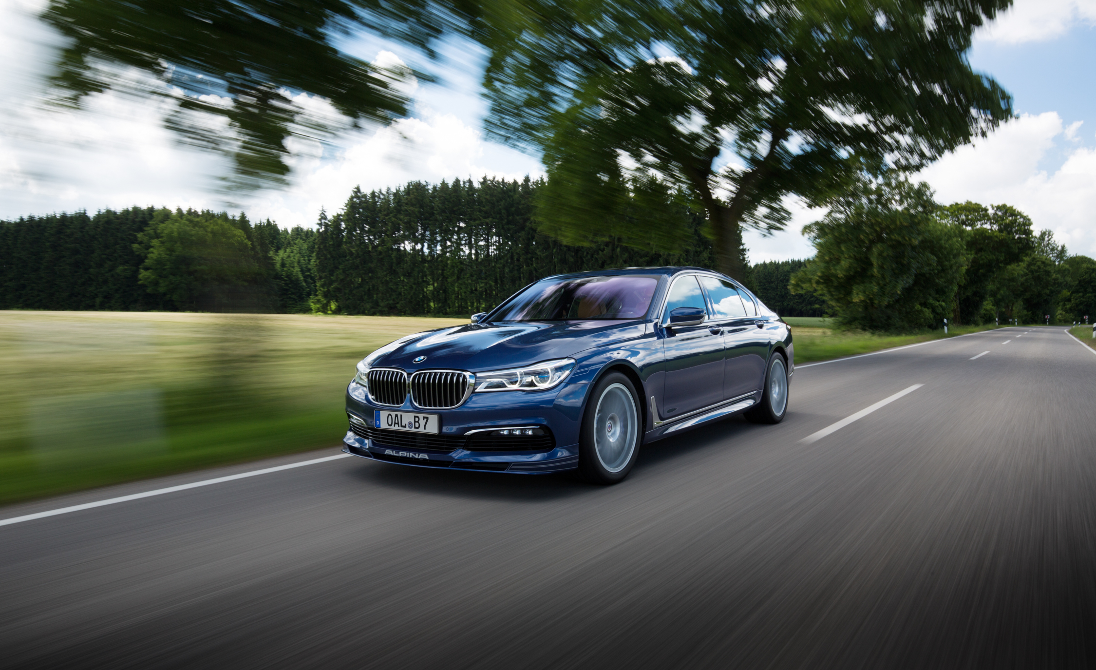 2017 BMW Alpina B7 Blue Metallic (View 45 of 45)