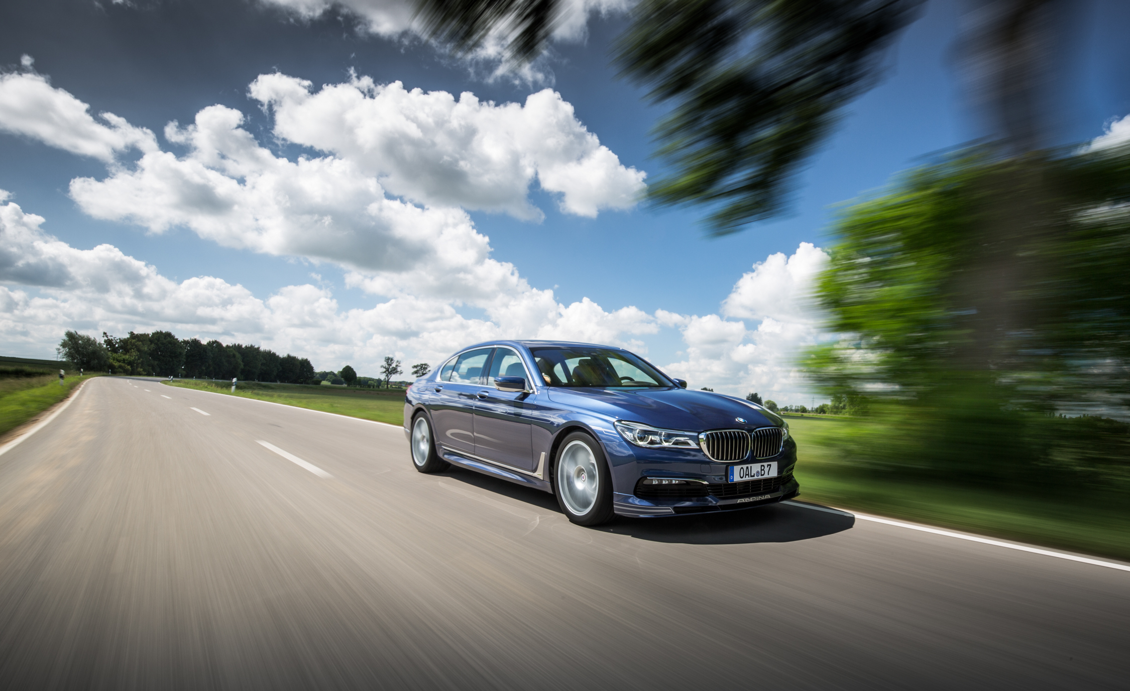 2017 BMW Alpina B7 Test Drive Front And Side View (Photo 23 of 45)