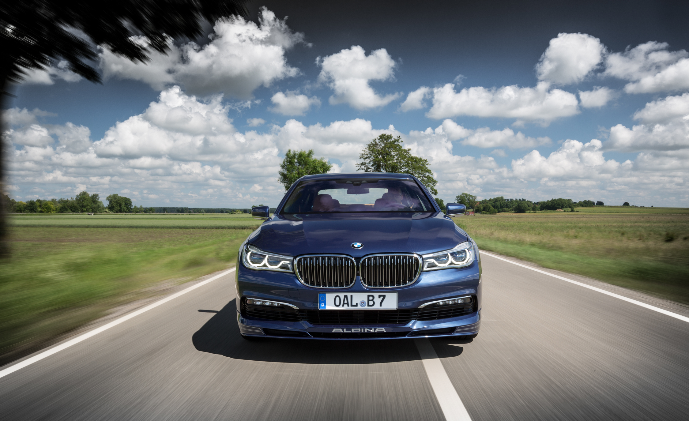 2017 BMW Alpina B7 Test Drive Front View (View 24 of 45)