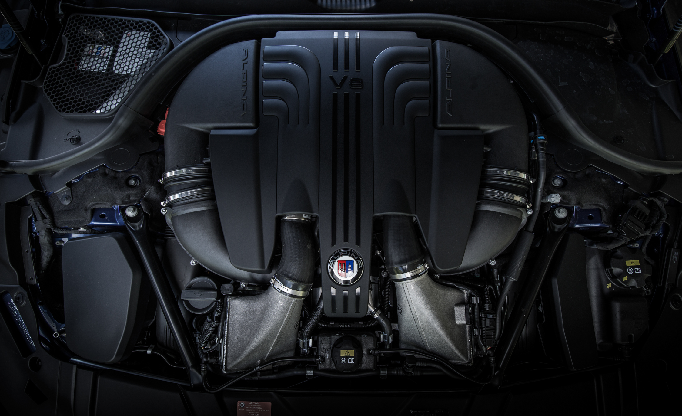 2017 BMW Alpina B7 View Engine (Photo 30 of 45)