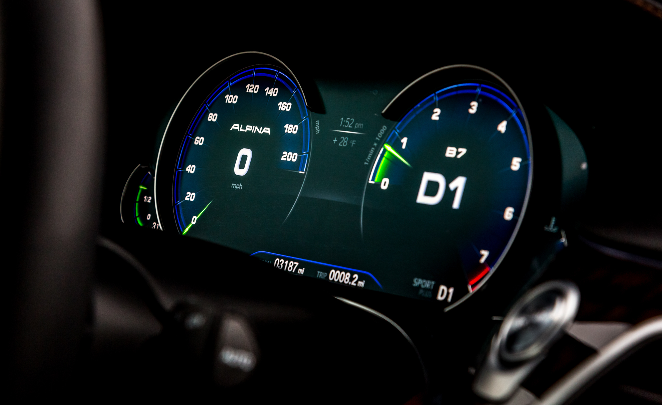 2017 BMW Alpina B7 XDrive Interior View Speedometer (Photo 40 of 45)