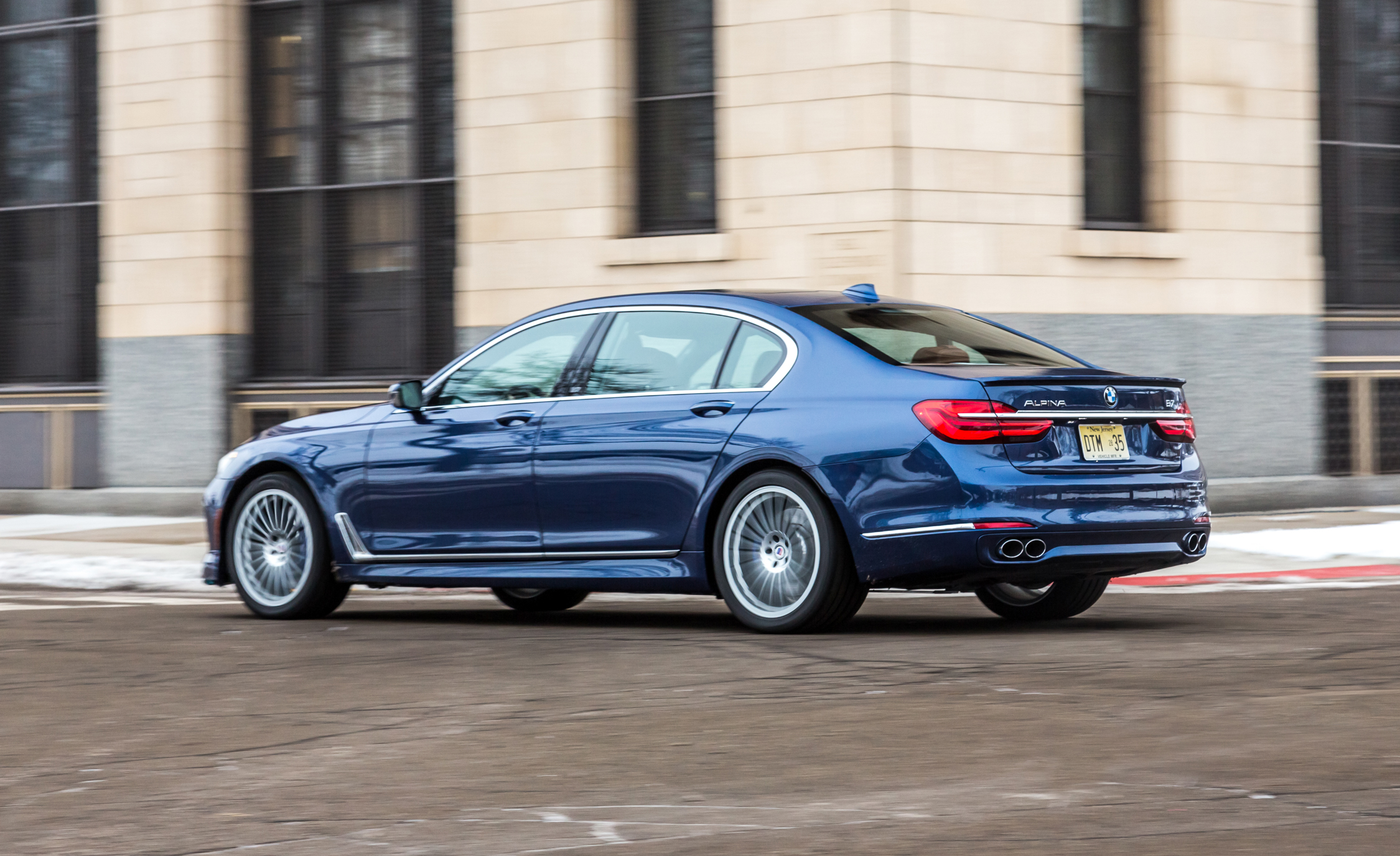 2017 BMW Alpina B7 XDrive Test Drive Side And Rear View (View 5 of 45)