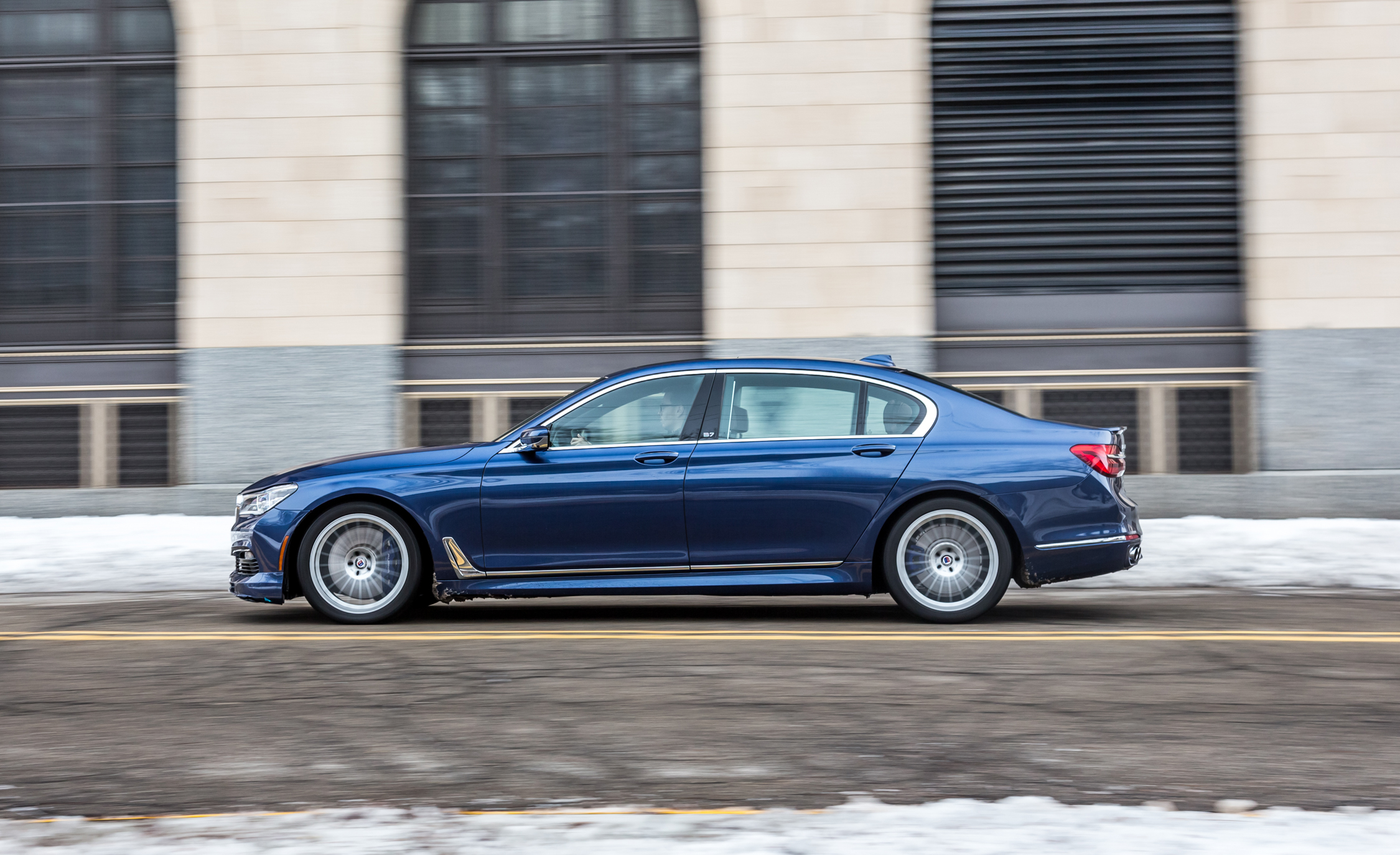 2017 BMW Alpina B7 XDrive Test Drive Side View (Photo 43 of 45)