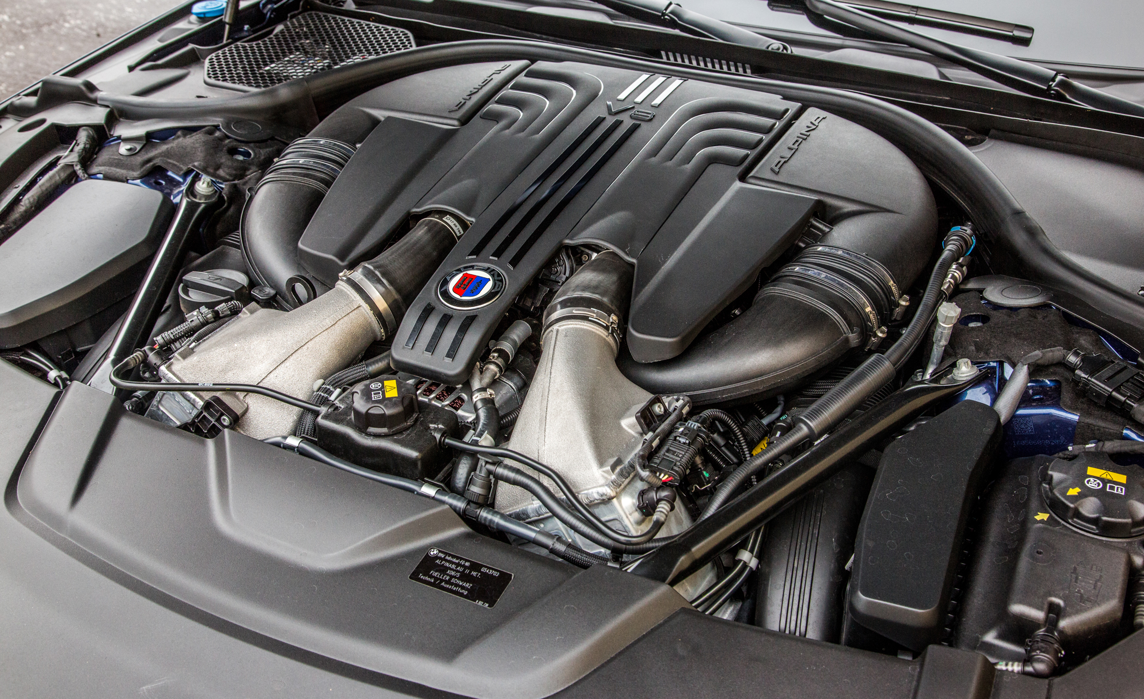 2017 BMW Alpina B7 XDrive View Engine (Photo 44 of 45)