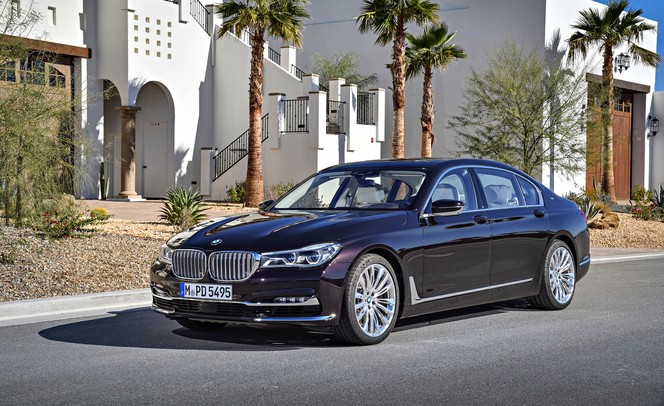 2017 BMW M760Li XDrive Excellence Exterior Front And Side (Photo 61 of 76)