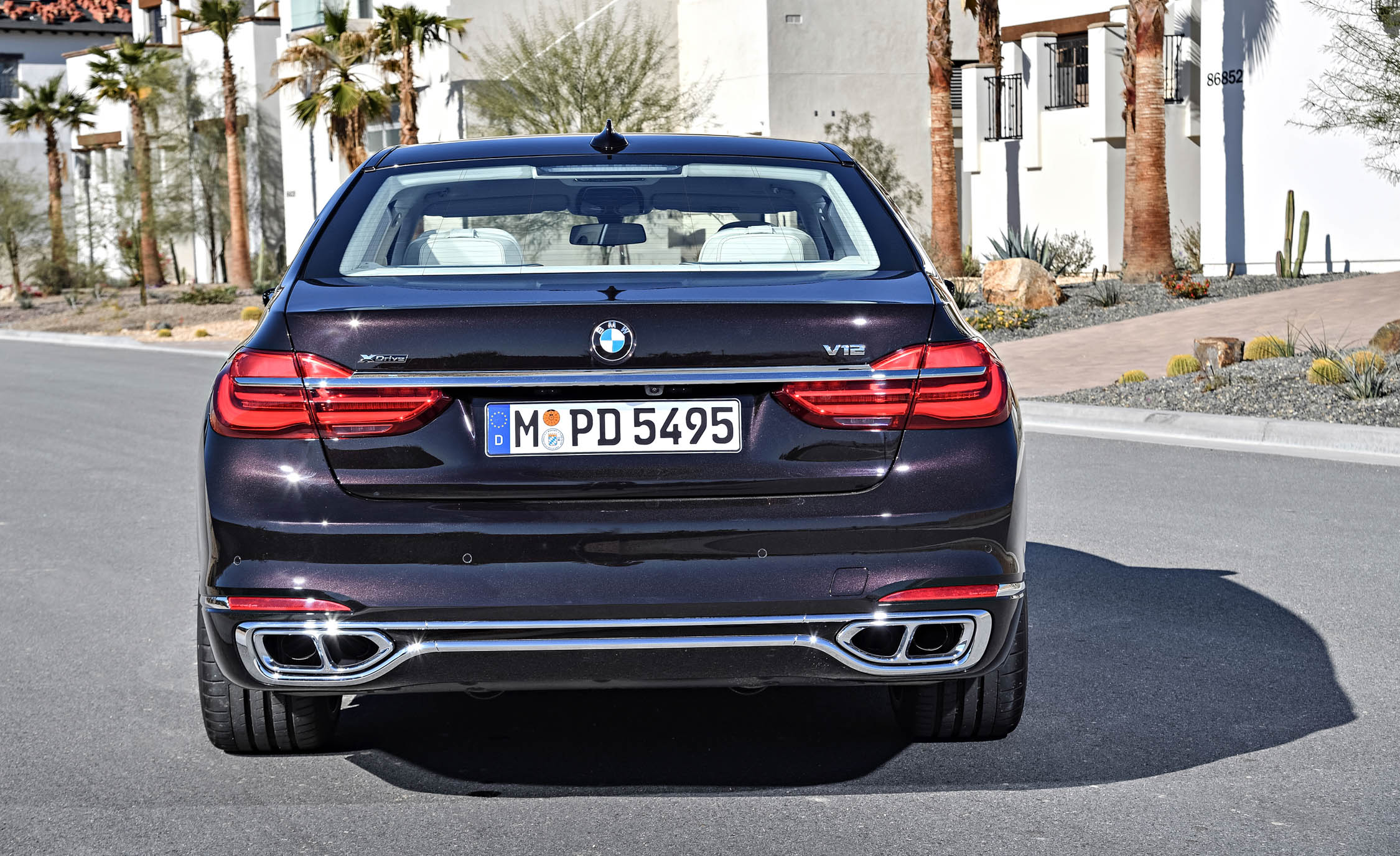 2017 BMW M760Li XDrive Excellence Exterior Rear (Photo 62 of 76)