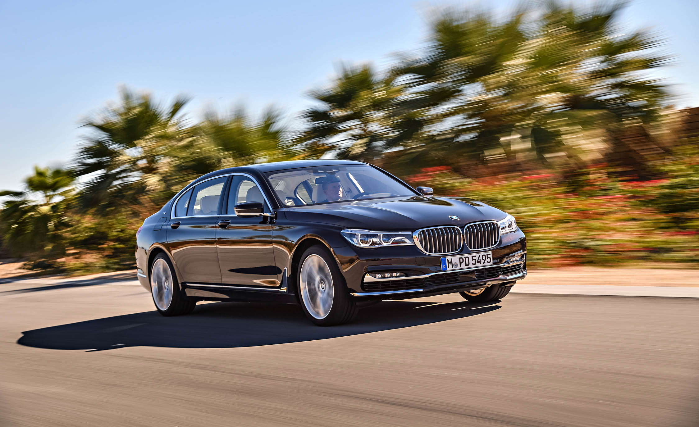 2017 BMW M760Li XDrive Test Drive Front And Side View (Photo 70 of 76)