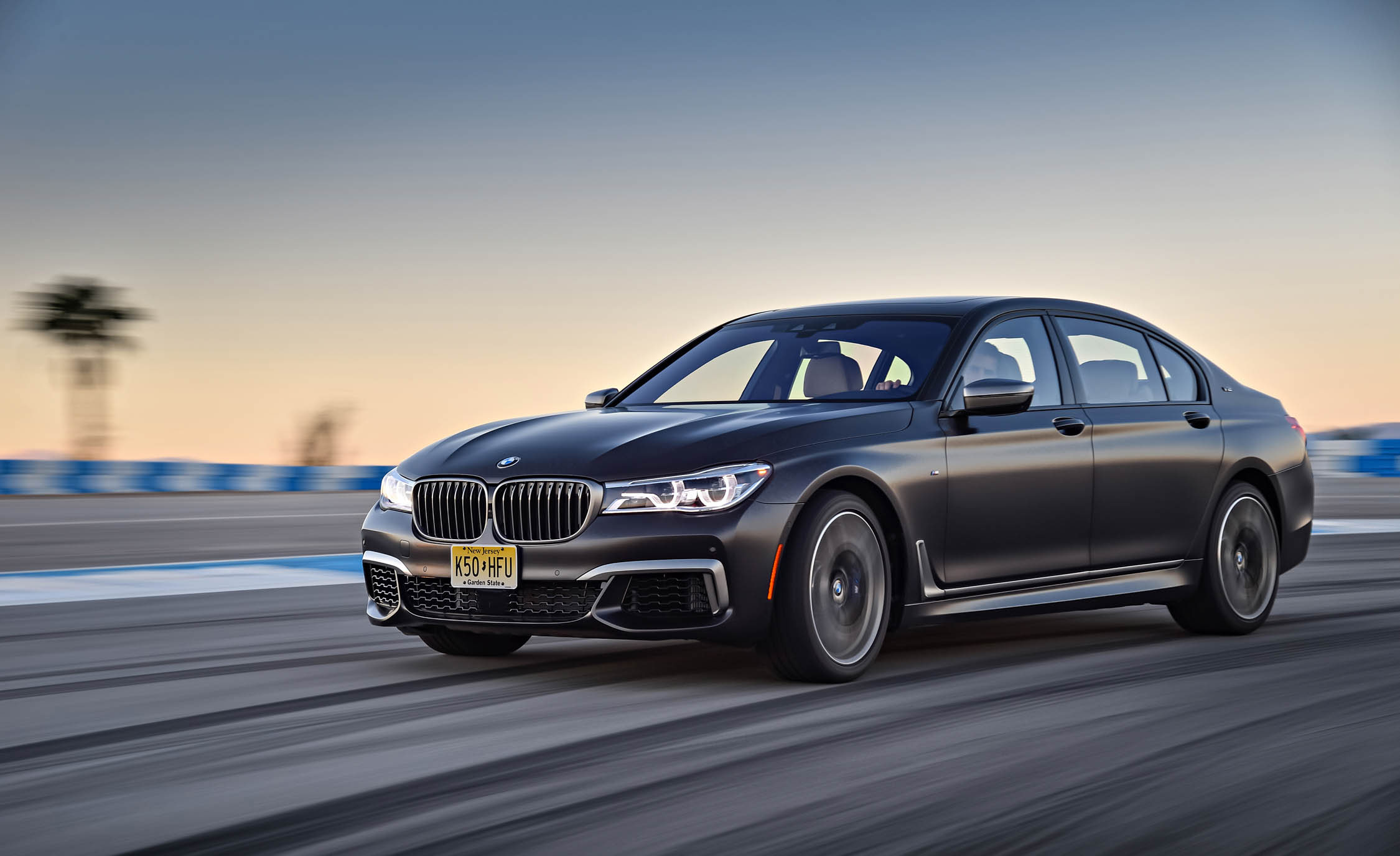 2017 BMW M760i XDrive Circuit Test Front And Side View (Photo 4 of 76)