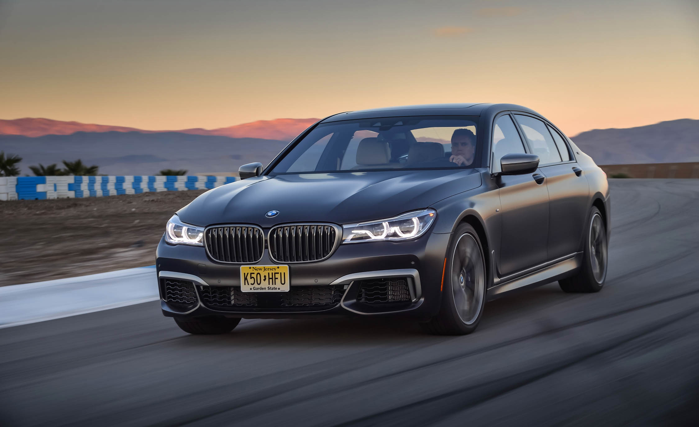 2017 BMW M760i XDrive Circuit Test Front Corner (Photo 5 of 76)