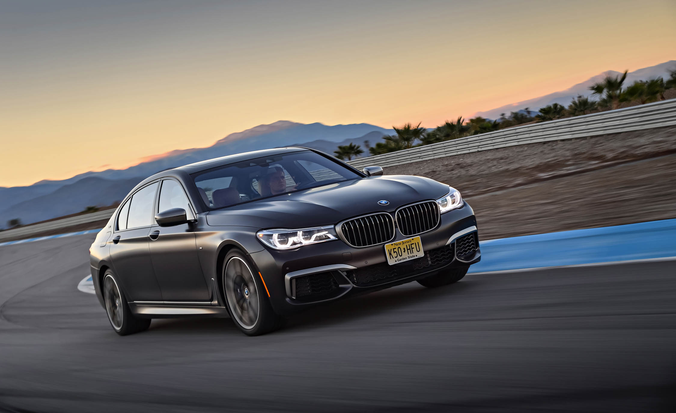 2017 BMW M760i XDrive Circuit Test Front View (Photo 6 of 76)