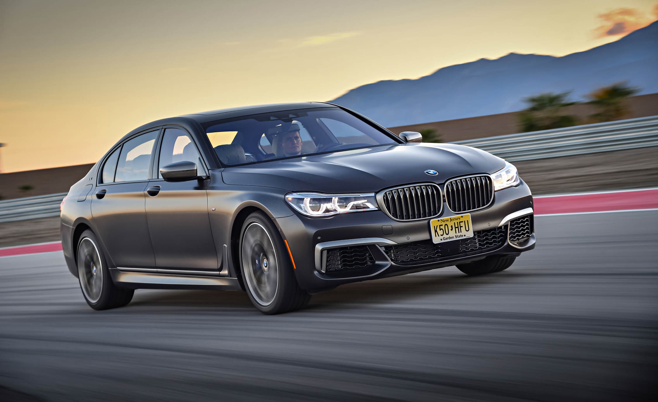 2017 BMW M760i XDrive Circuit Test Side And Front View (Photo 8 of 76)