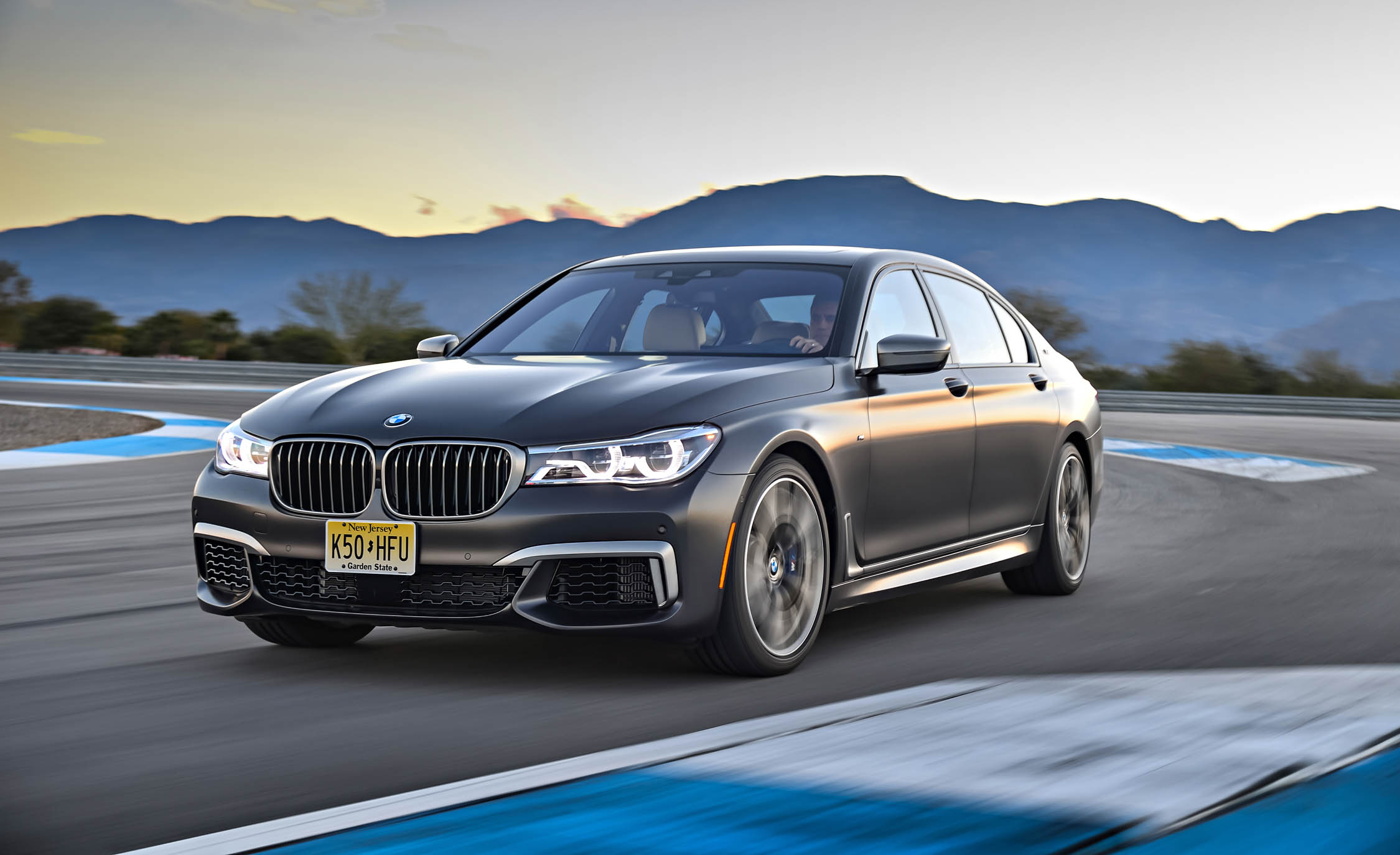 2017 BMW M760i XDrive Circuit Test (Photo 2 of 76)