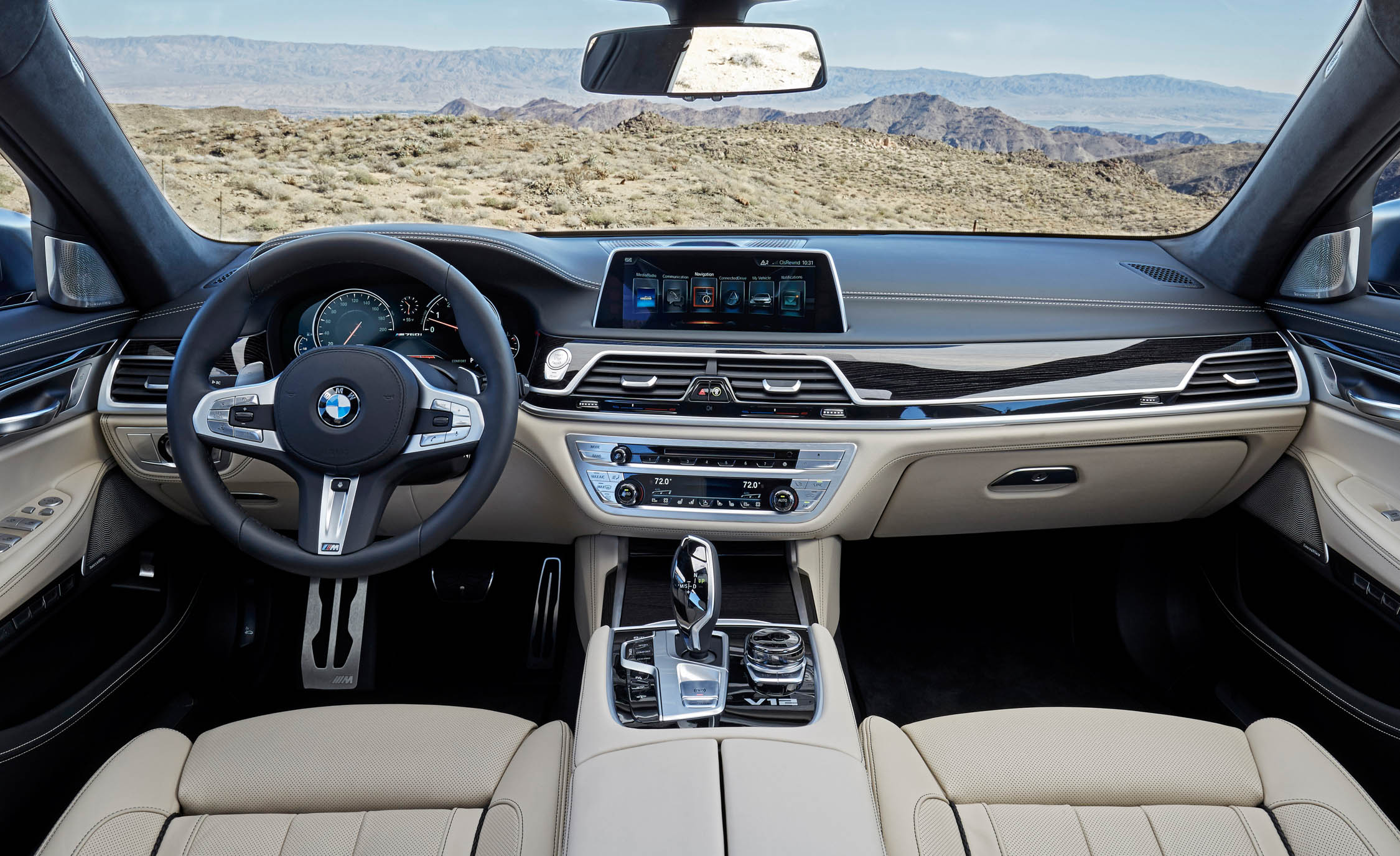 2017 BMW M760i XDrive Interior (View 56 of 76)
