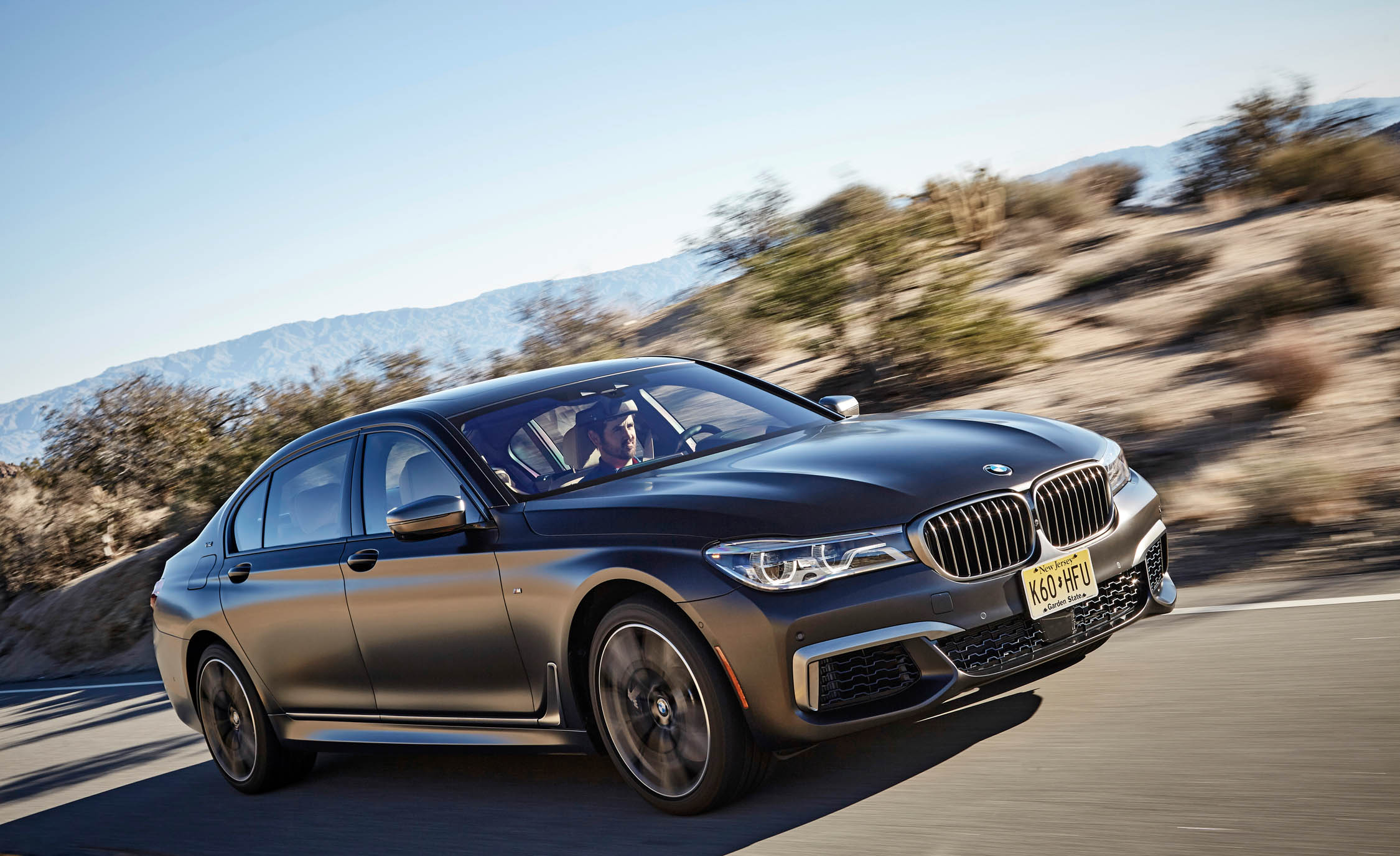 2017 BMW M760i XDrive Test Drive Front And Side View (Photo 38 of 76)