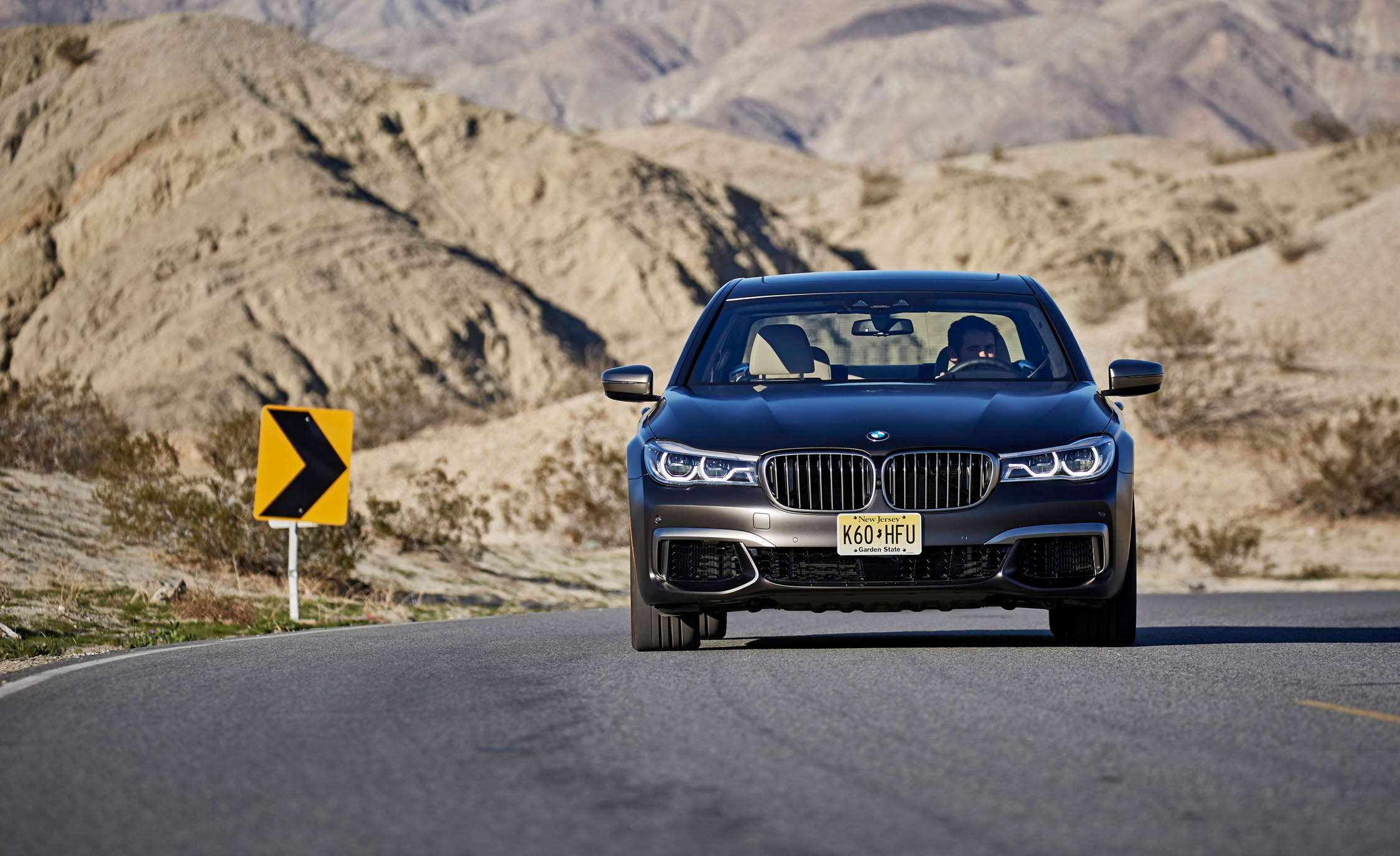 2017 BMW M760i XDrive Test Drive Front End (Photo 39 of 76)