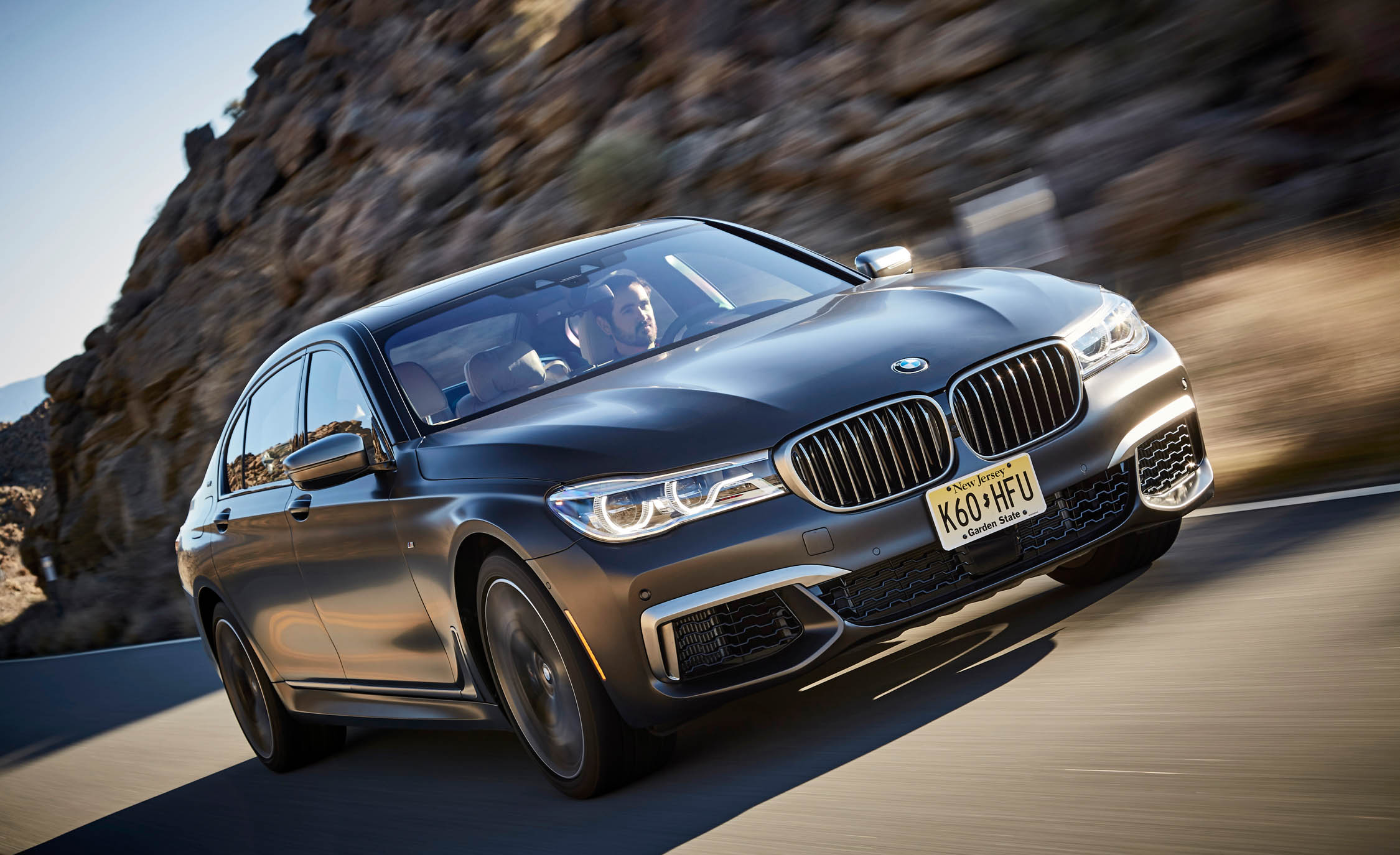 2017 BMW M760i XDrive Test Drive Front View (Photo 40 of 76)