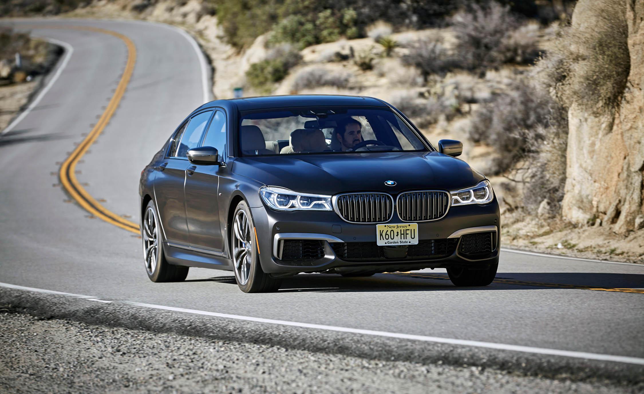 2017 BMW M760i XDrive Test Drive Grey Metallic (View 13 of 76)