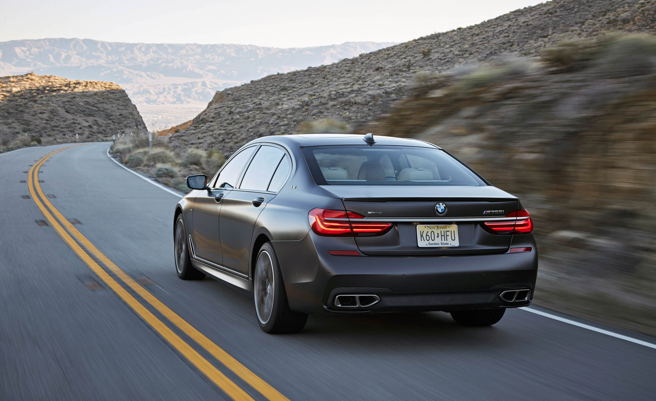 2017 BMW M760i XDrive Test Drive Rear Corner (View 14 of 76)
