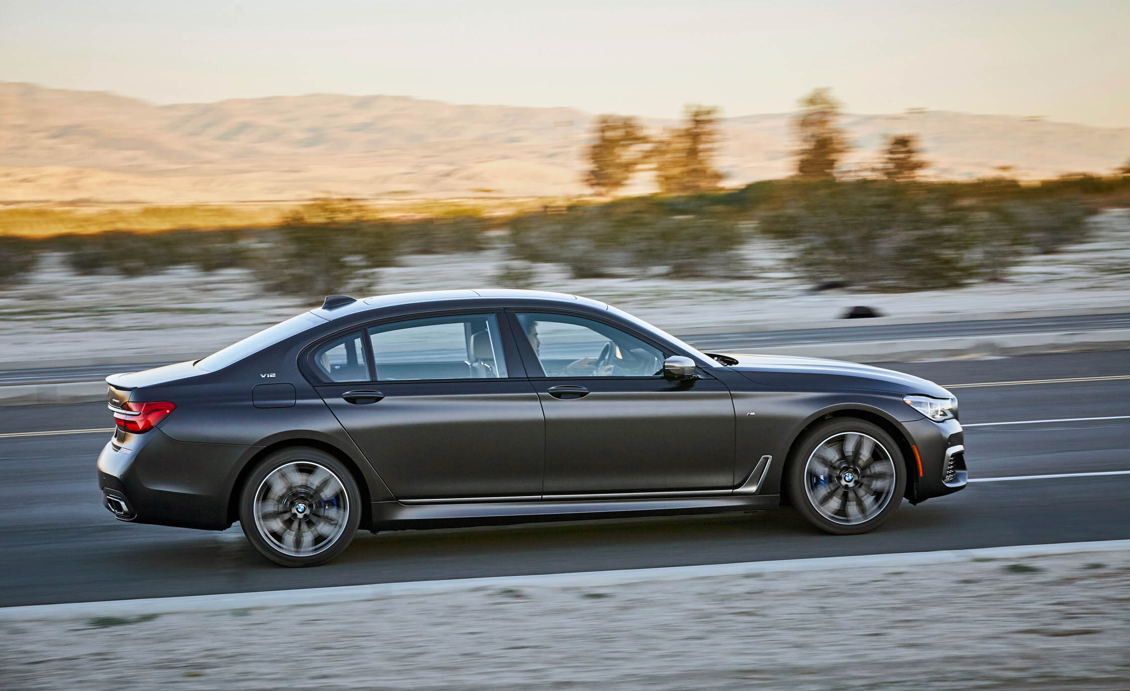 2017 BMW M760i XDrive Test Drive Side Right View (Photo 58 of 76)