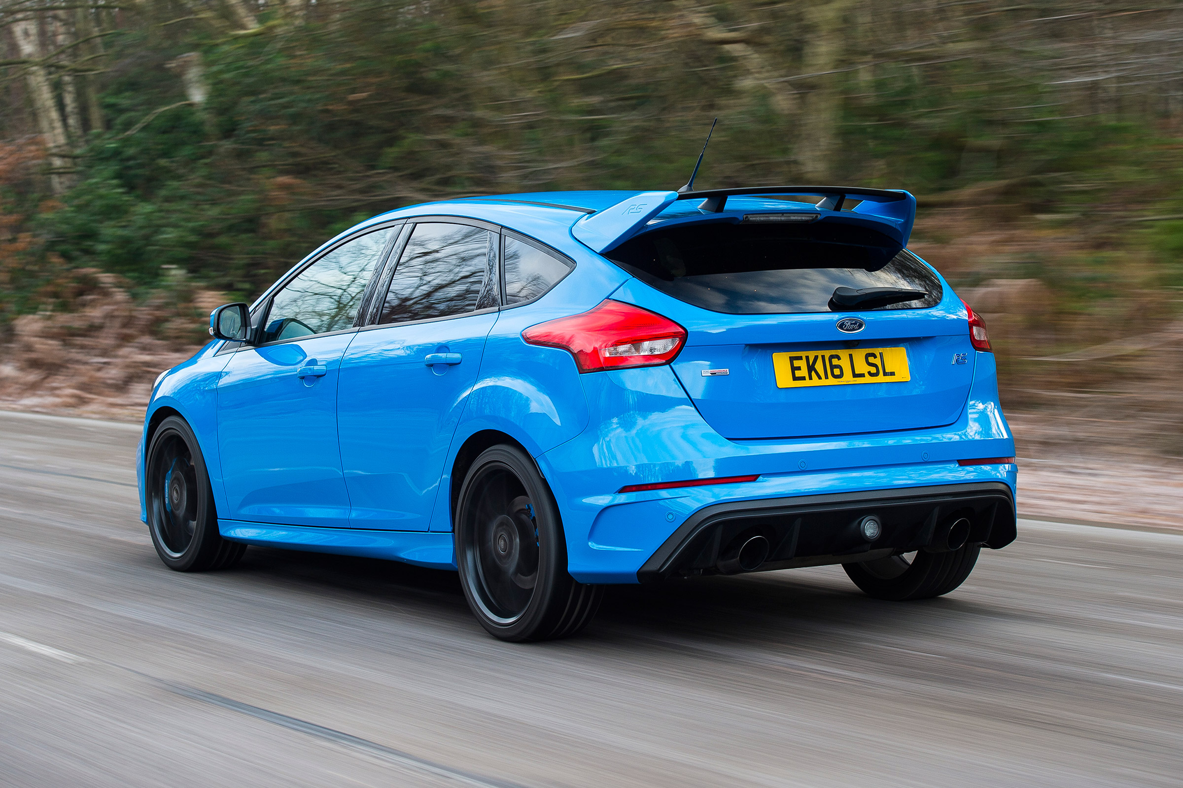 2017 Ford Focus RS Test Drive Rear And Side View (Photo 22 of 23)