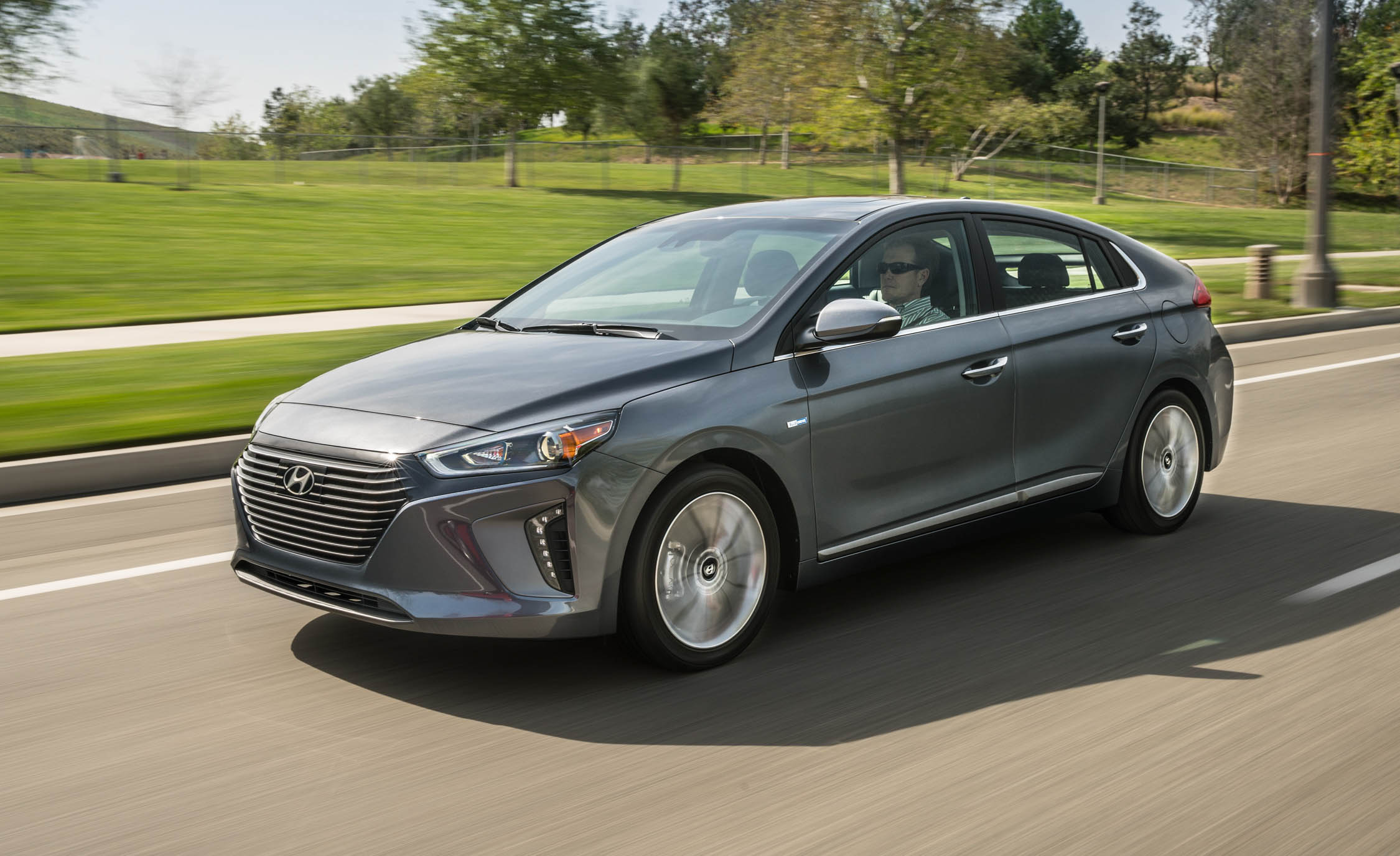 2017 Hyundai Ioniq Grey Metallic (Photo 37 of 67)