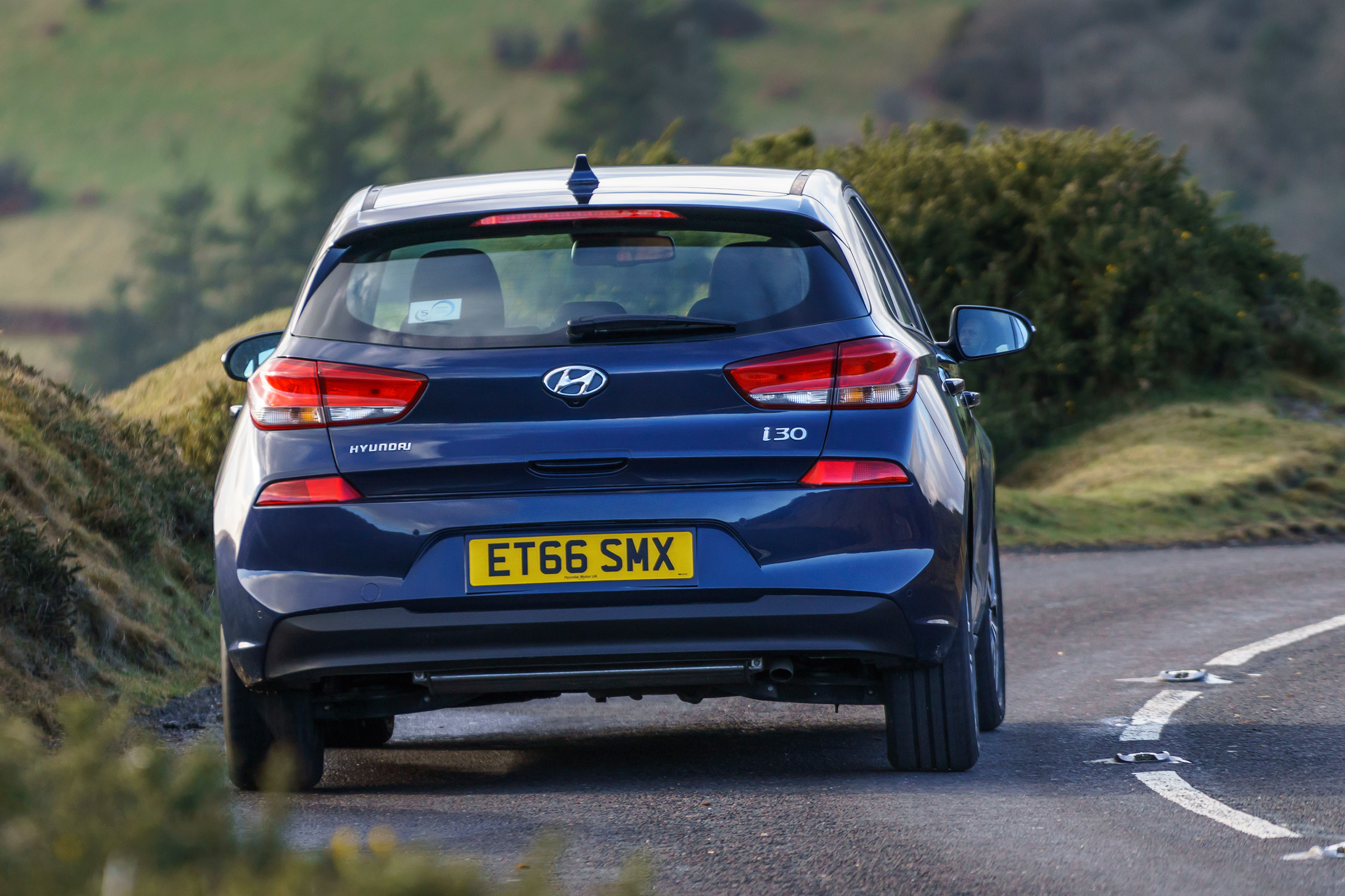 2017 Hyundai I30 Test Drive Rear View (View 1 of 23)