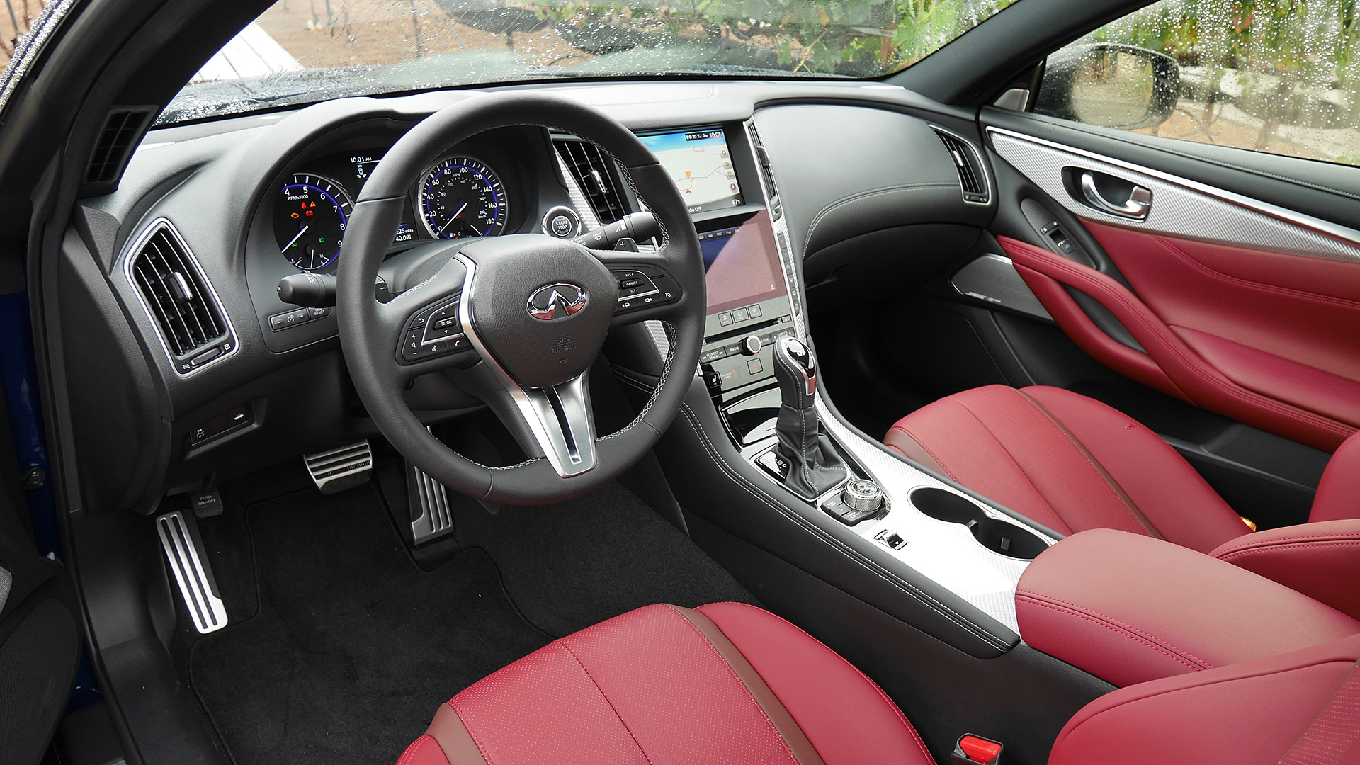 2017 Infiniti Q60 Interior Driver Steering And Dash (Photo 2 of 32)