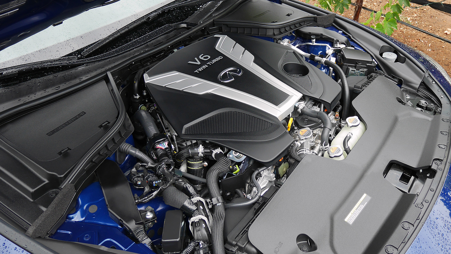 2017 Infiniti Q60 View Engine (Photo 31 of 32)