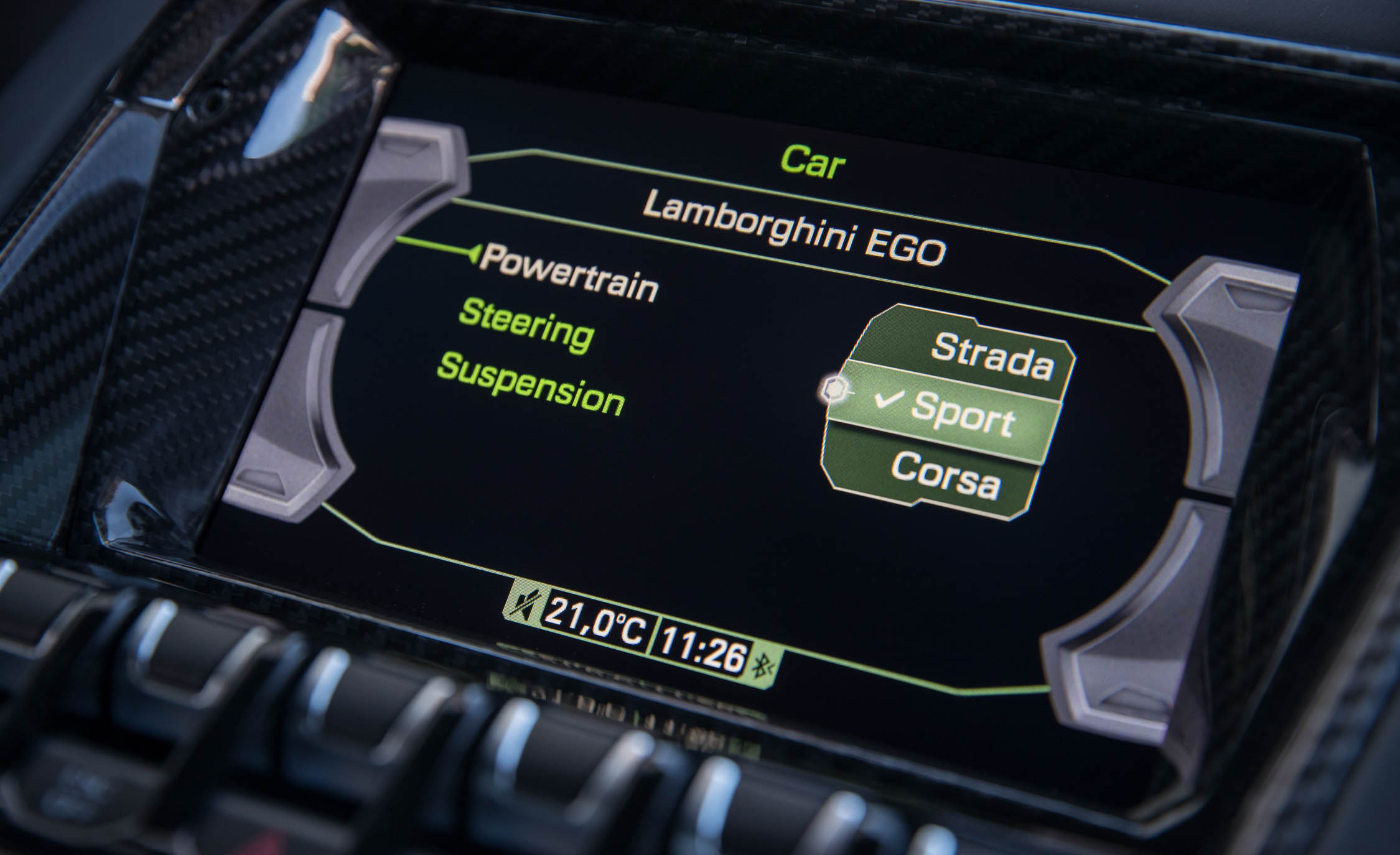 2017 Lamborghini Aventador S Interior View Center Headunit Screen (Photo 14 of 20)