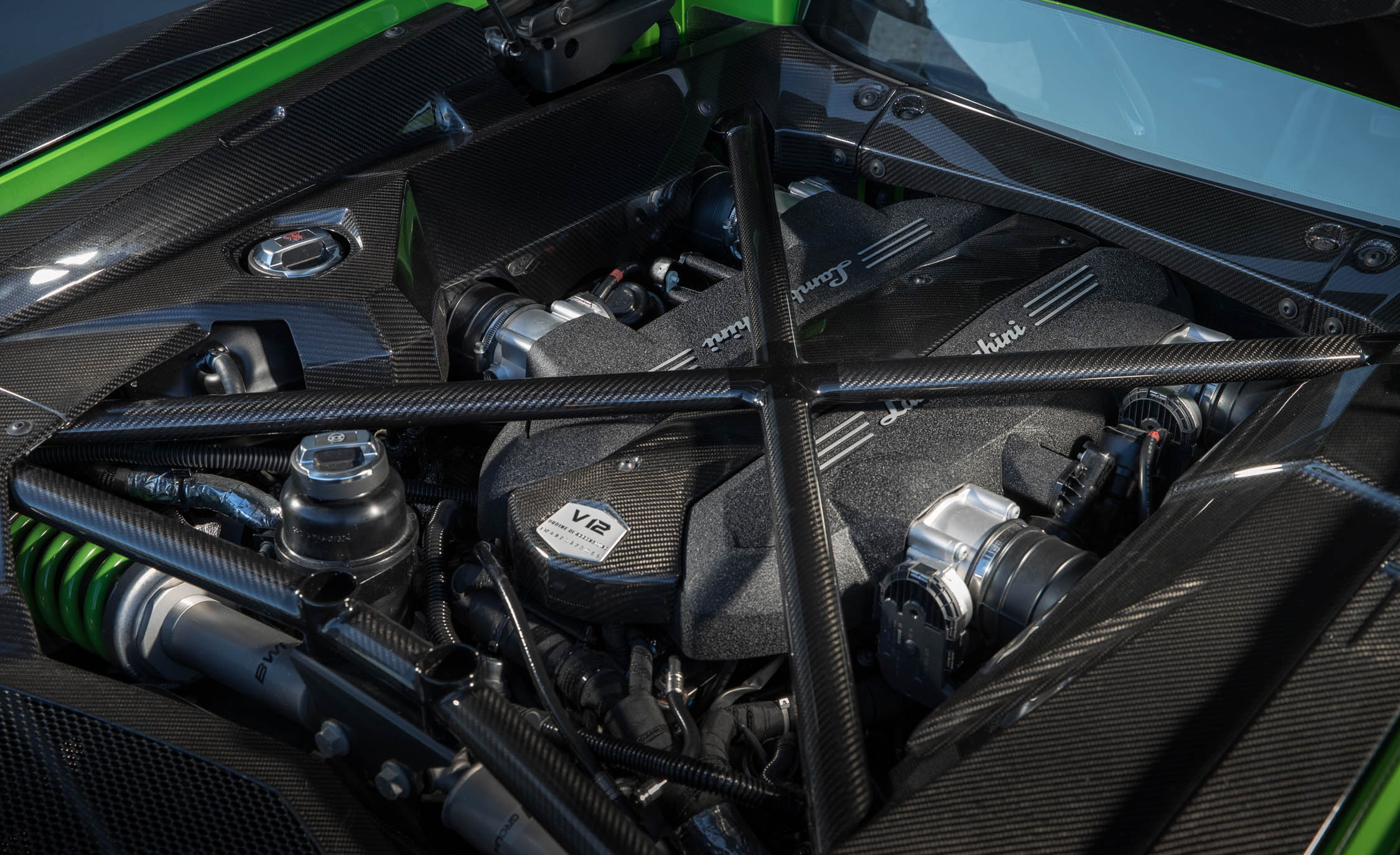 2017 Lamborghini Aventador S View Engine (Photo 20 of 20)
