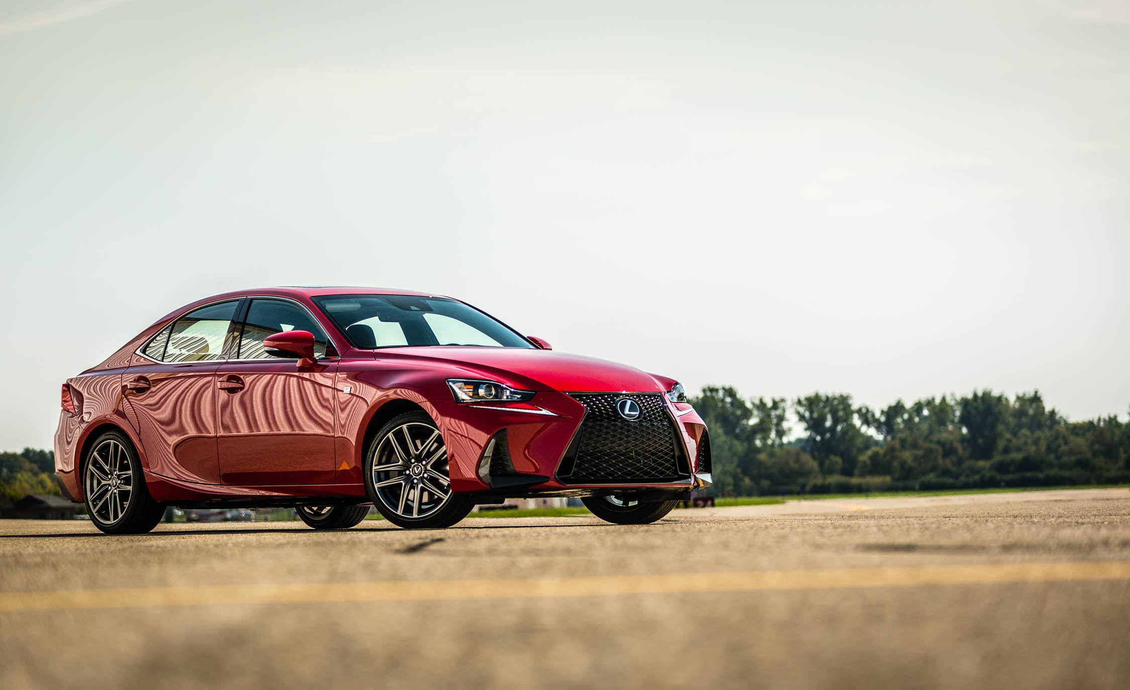 2017 Lexus IS 200t F Sport Exterior Front And Side (View 29 of 29)