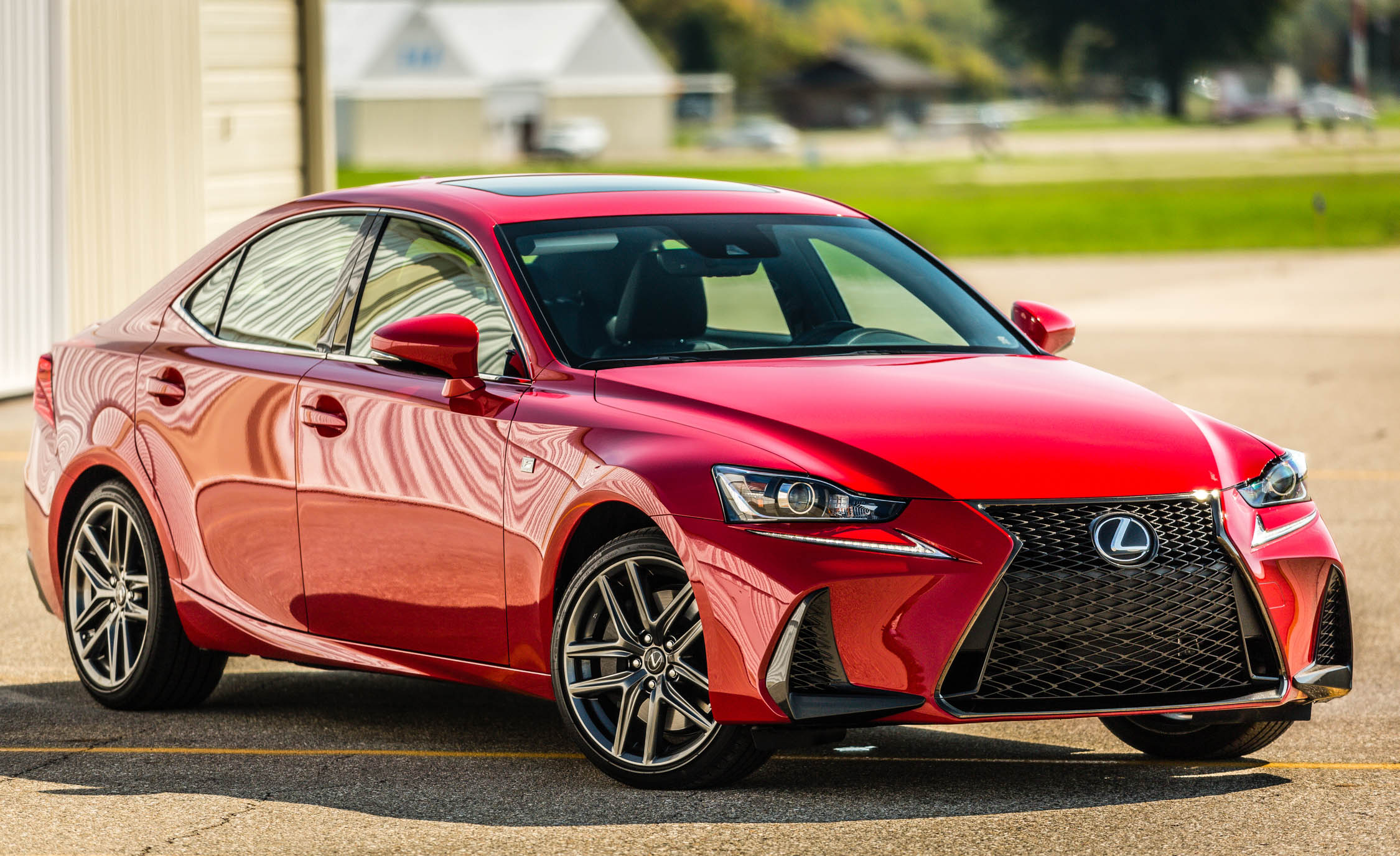 2017 Lexus IS 200t F Sport Exterior (Photo 2 of 29)
