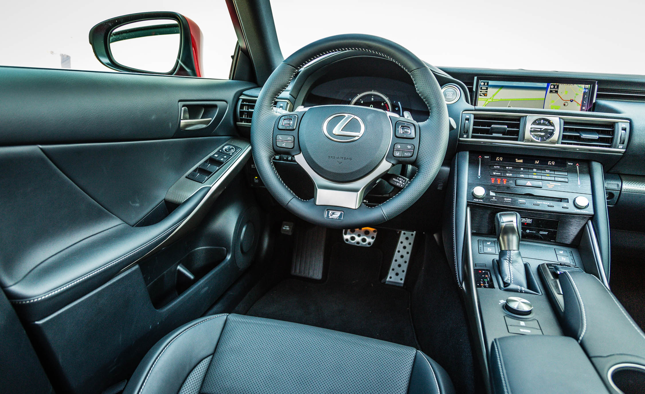 2017 Lexus IS 200t F Sport Interior Driver Cockpit Steering And Dash (Photo 6 of 29)