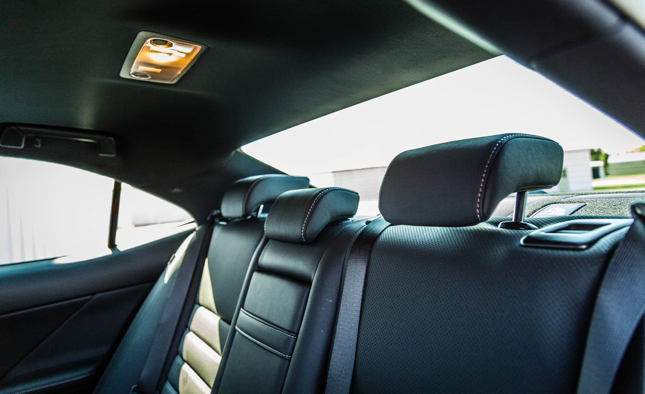 2017 Lexus IS 200t F Sport Interior Seats Rear Headrest (View 28 of 29)