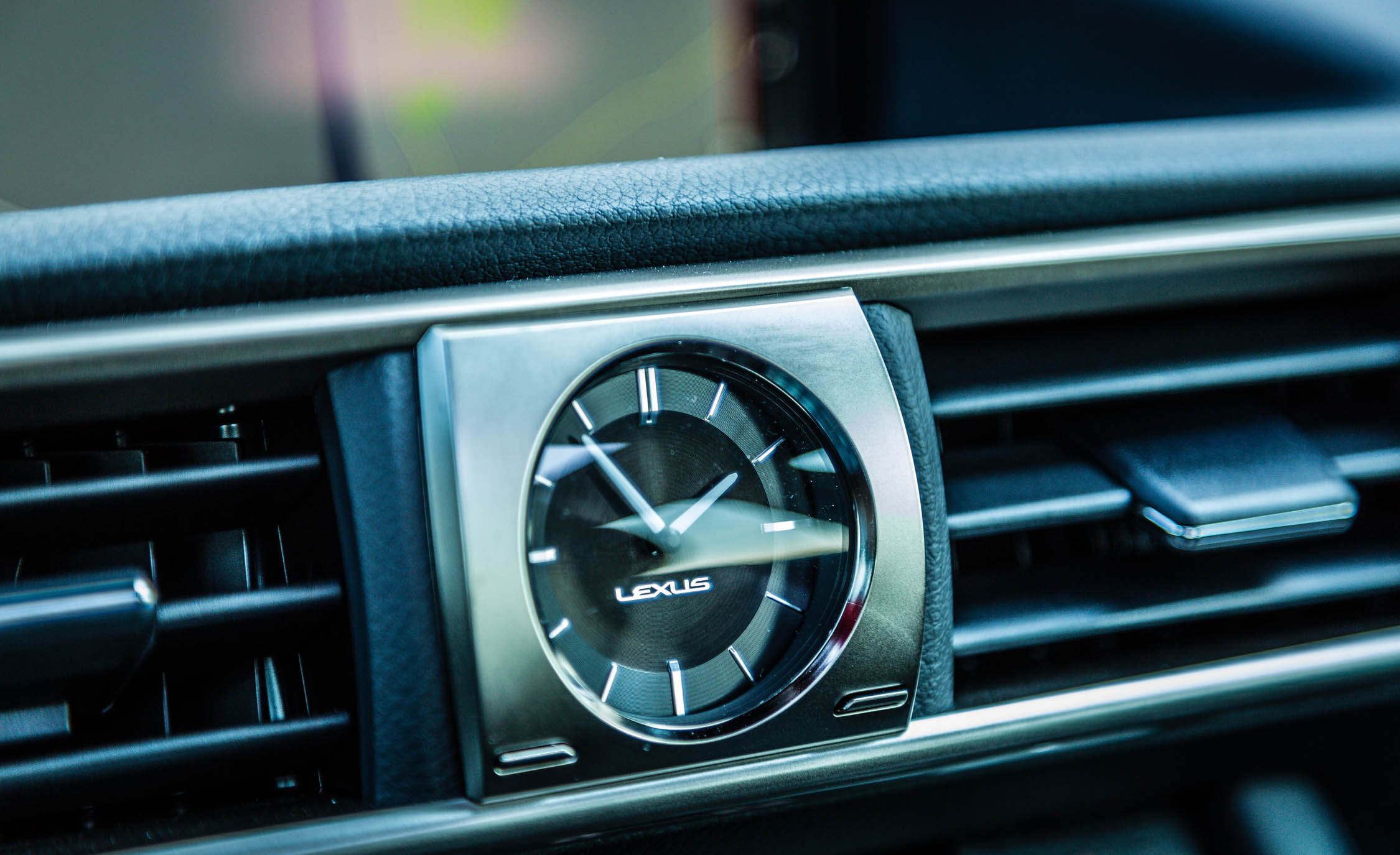 2017 Lexus IS 200t F Sport Interior View Dash Clock (Photo 10 of 29)