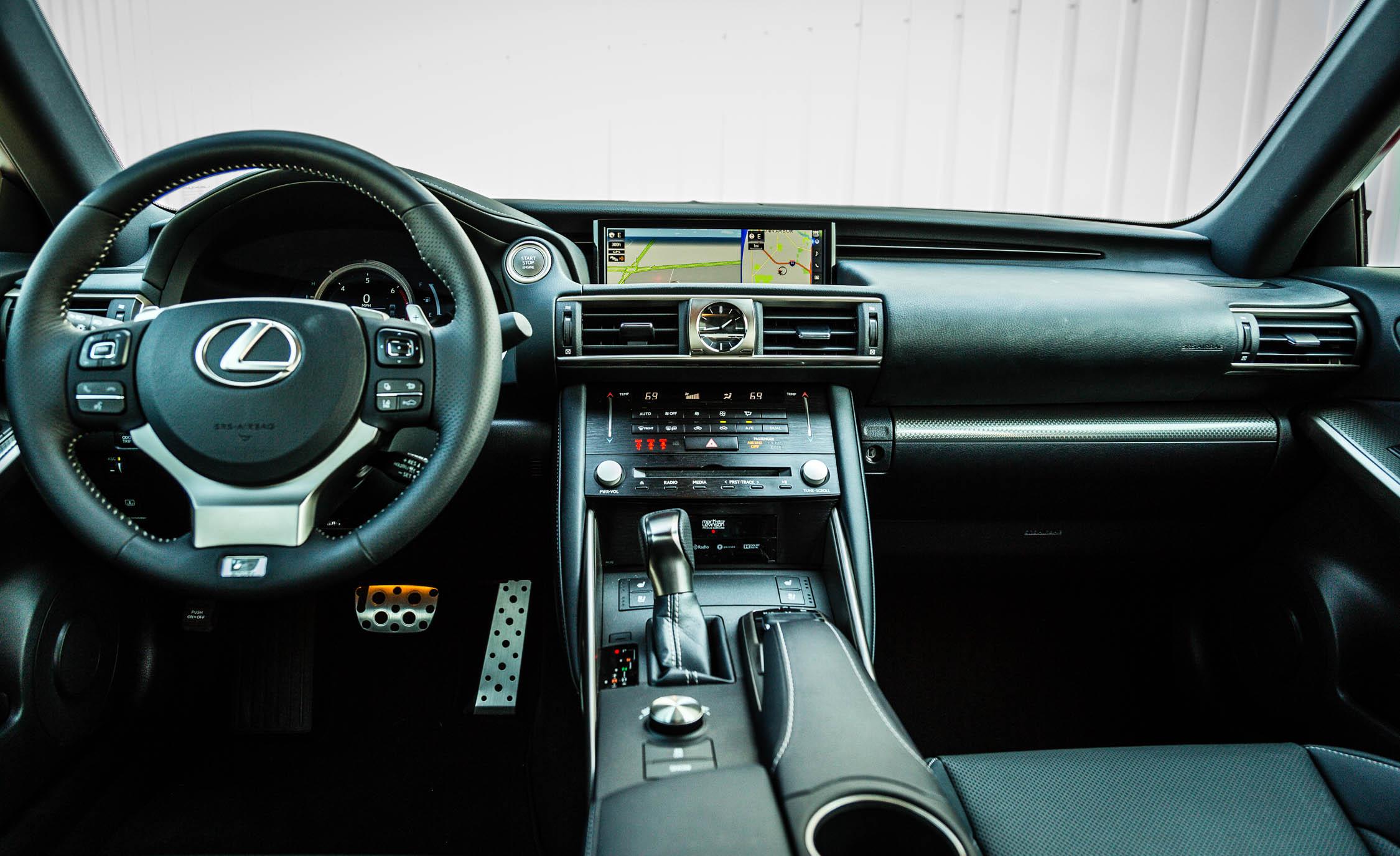 2017 Lexus IS 200t F Sport Interior (View 23 of 29)