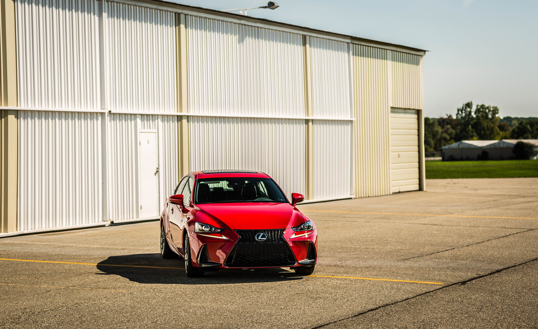 2017 Lexus IS 200t F Sport Red Exterior (View 7 of 29)