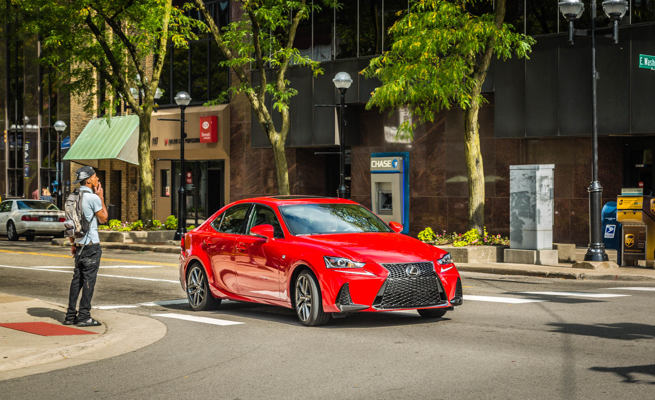 2017 Lexus IS 200t F Sport Test Drive Front And Side View (View 8 of 29)