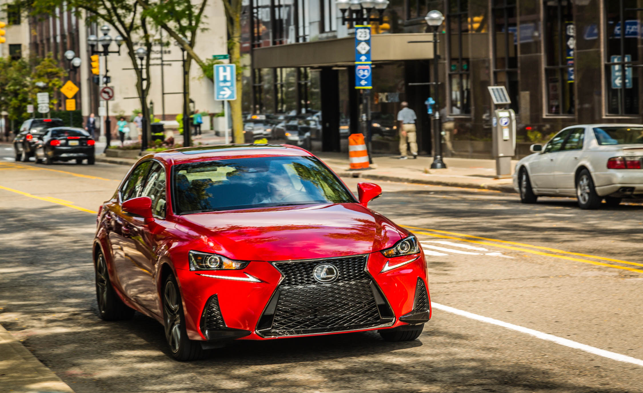 2017 Lexus IS 200t F Sport Test Drive Front View (Photo 24 of 29)