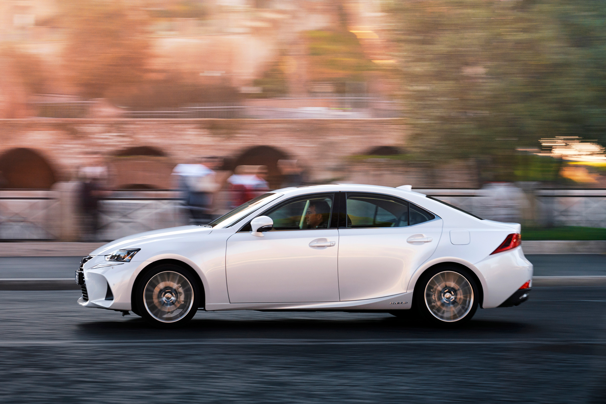 2017 Lexus IS 300h Test Drive Side View (Photo 8 of 13)